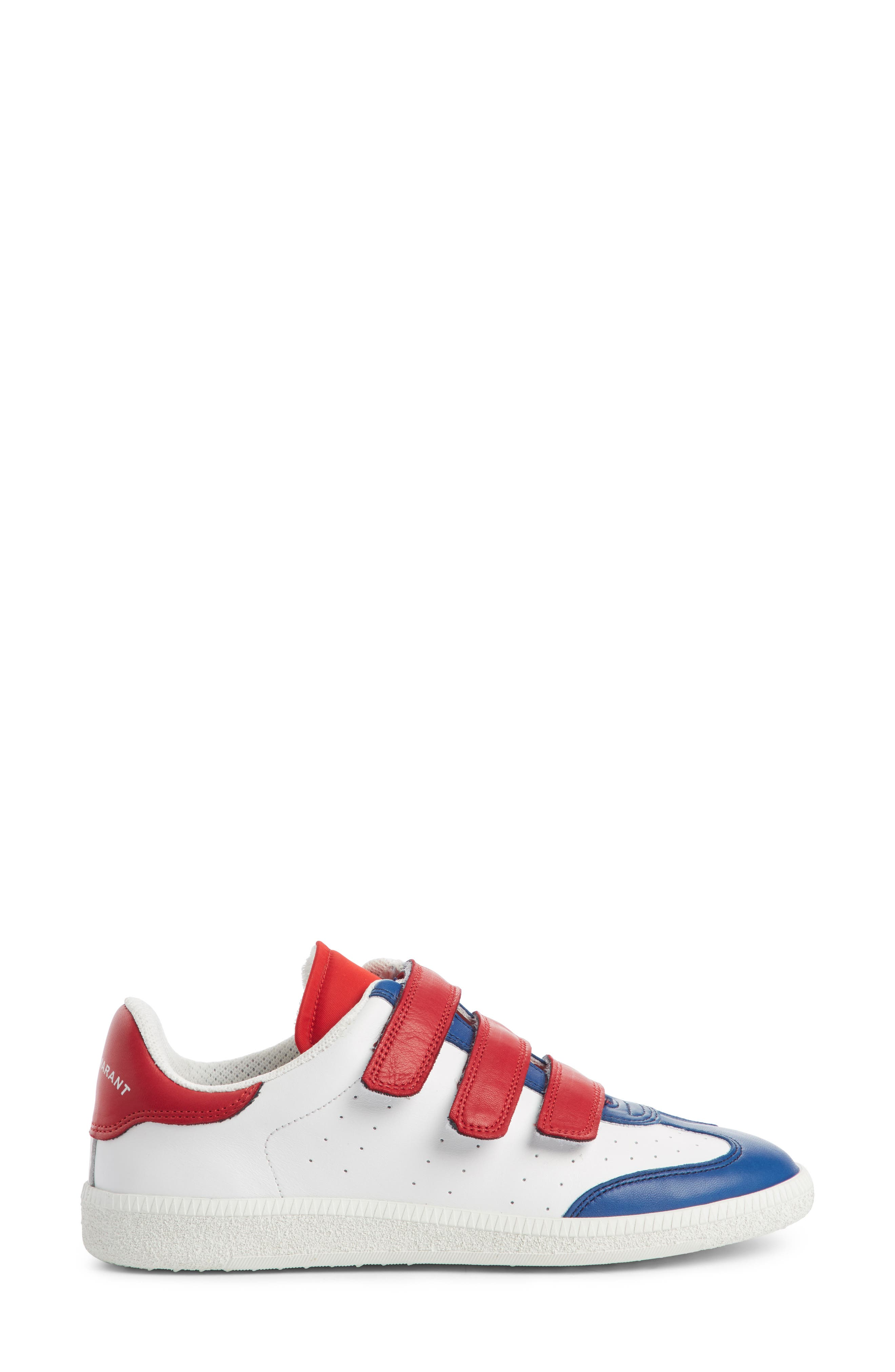 Beth Sneaker,                             Alternate thumbnail 4, color,                             White/ Blue/ Red