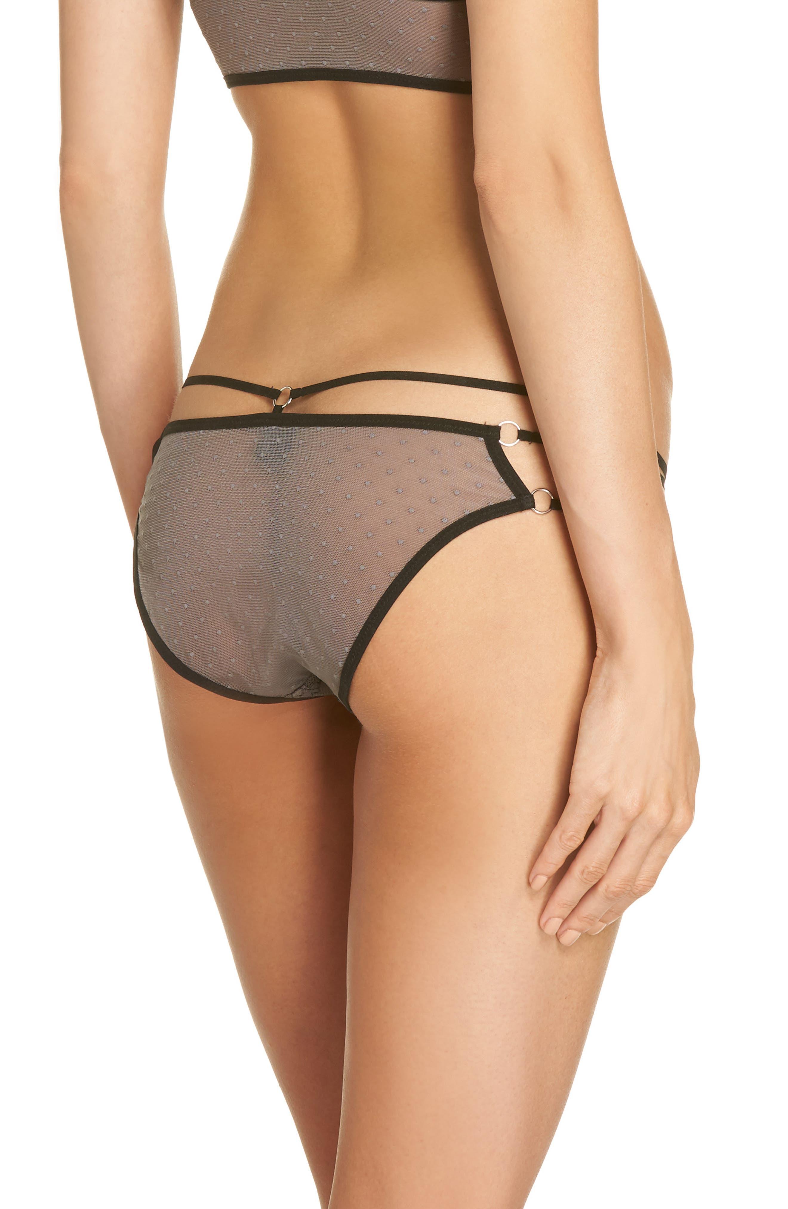 Thistle & Spire Constellation Lace Bikini,                             Alternate thumbnail 2, color,                             Steel