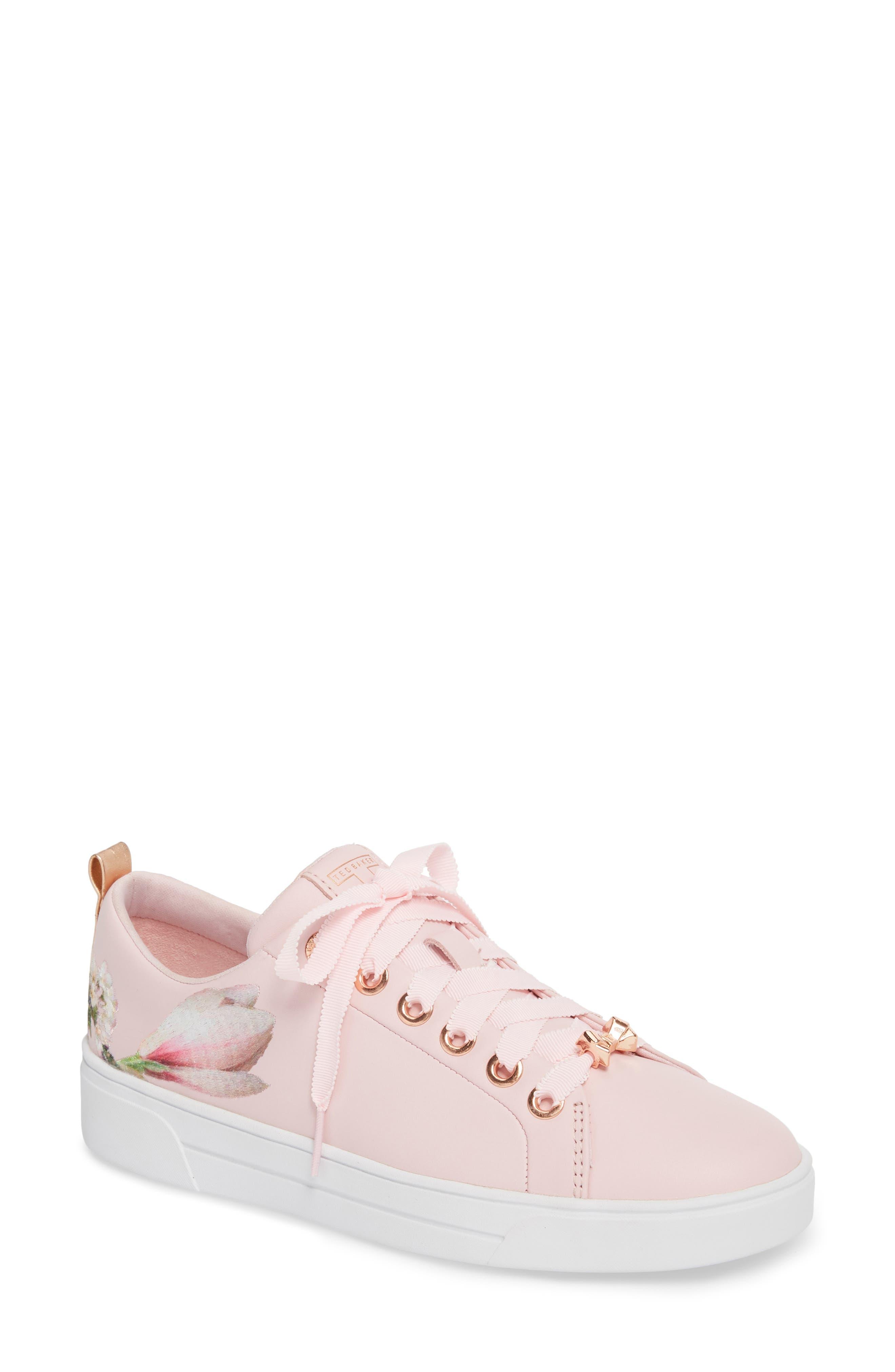 Ted Baker London Kelleie Embroidered Sneaker (Women)