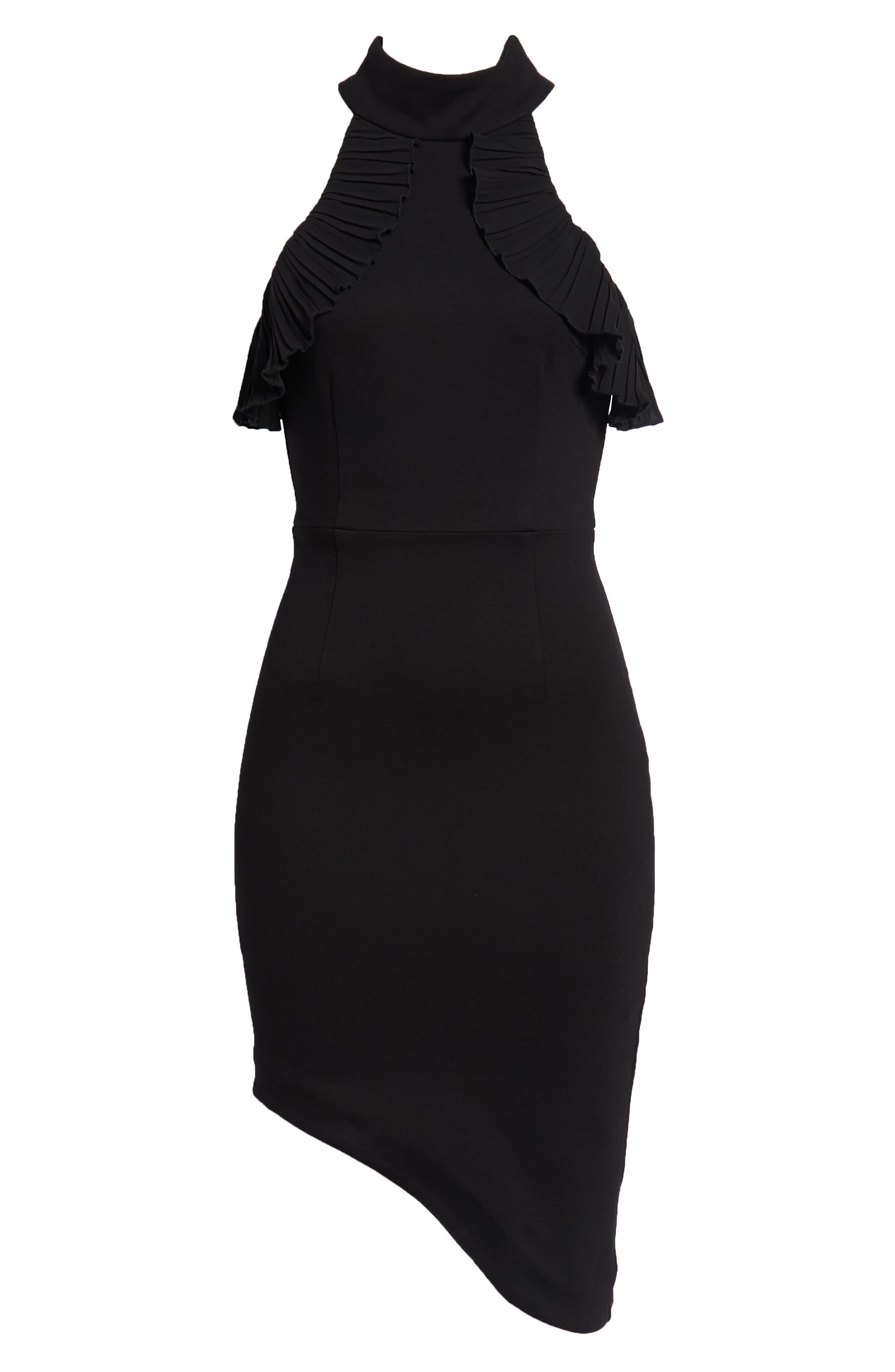 Exposition Dress,                             Alternate thumbnail 8, color,                             Black