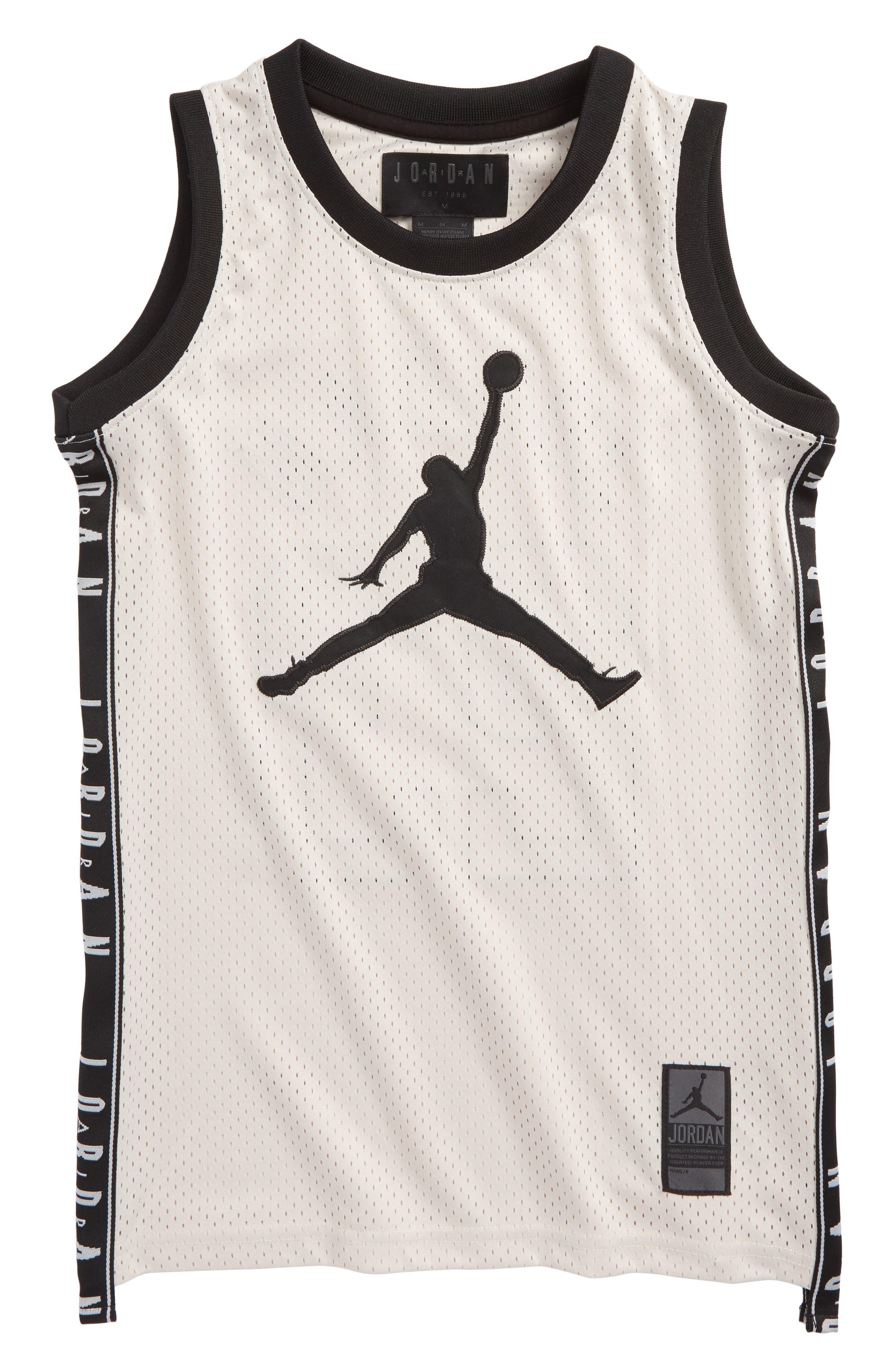 Jordan Rise Graphic Mesh Basketball Jersey (Big Boys)
