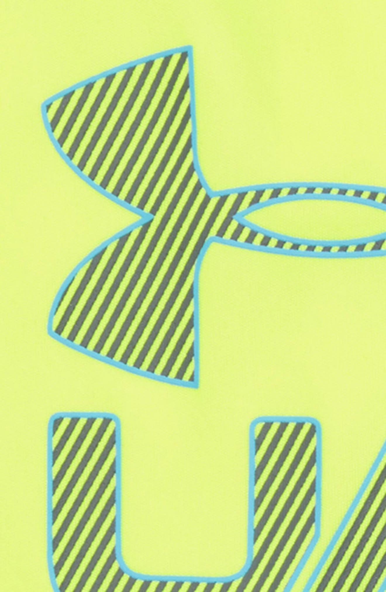 Sportster Bodysuit & Shorts Set,                             Alternate thumbnail 2, color,                             Hi Vis Yellow