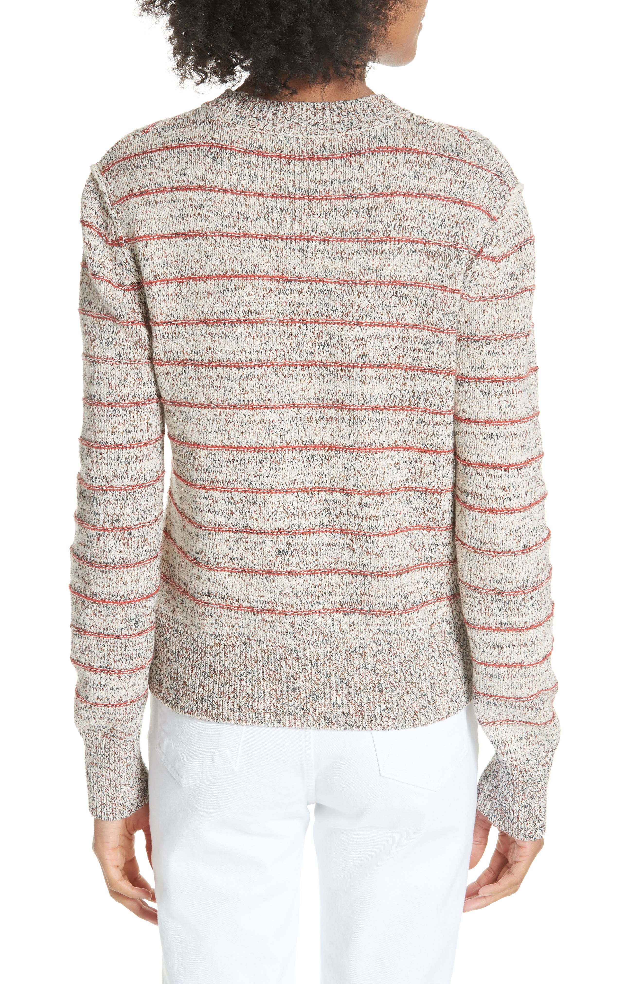 Zigzag Pullover,                             Alternate thumbnail 2, color,                             Ivory