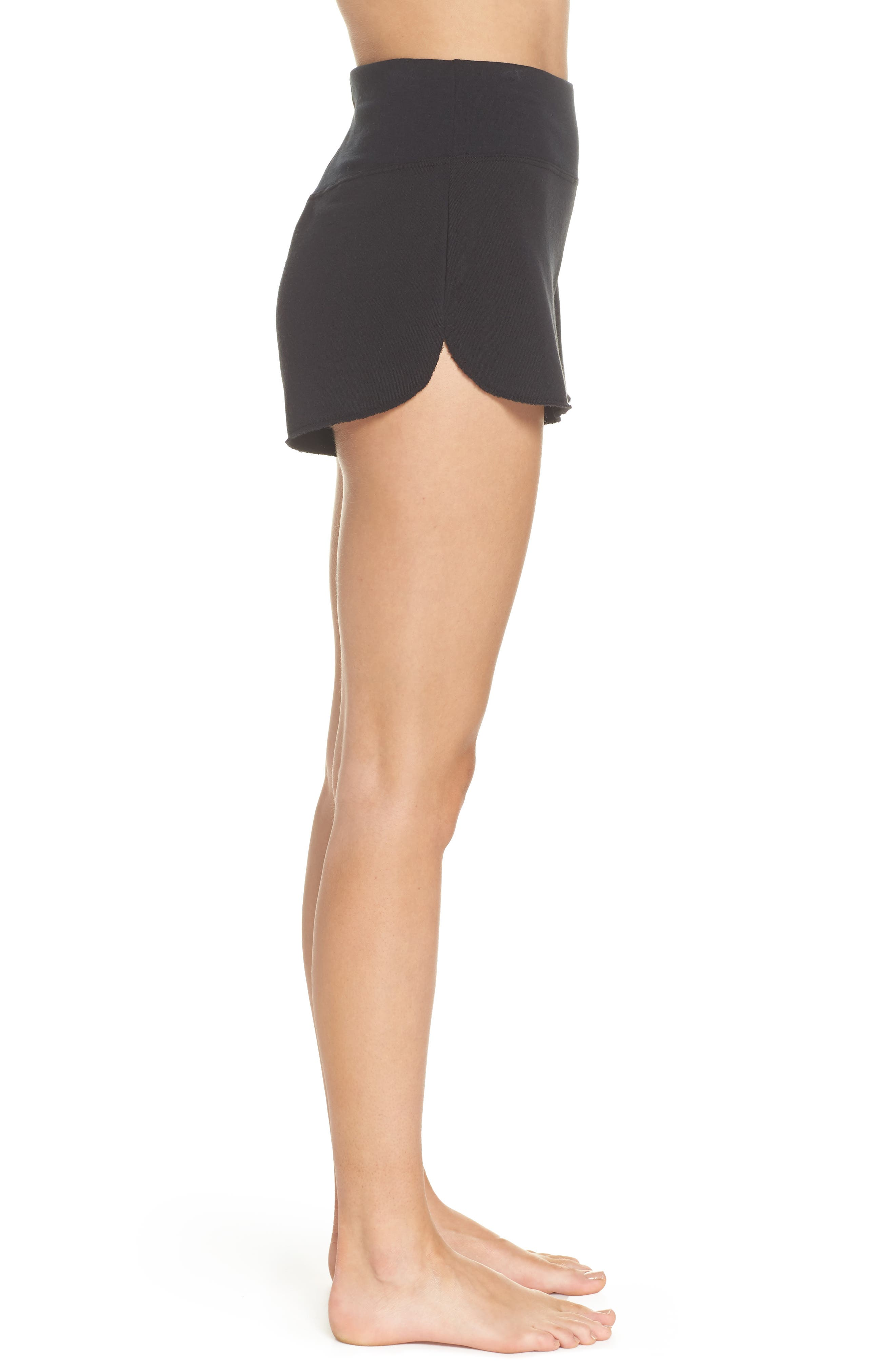 Boarder Shorts,                             Alternate thumbnail 3, color,                             Black