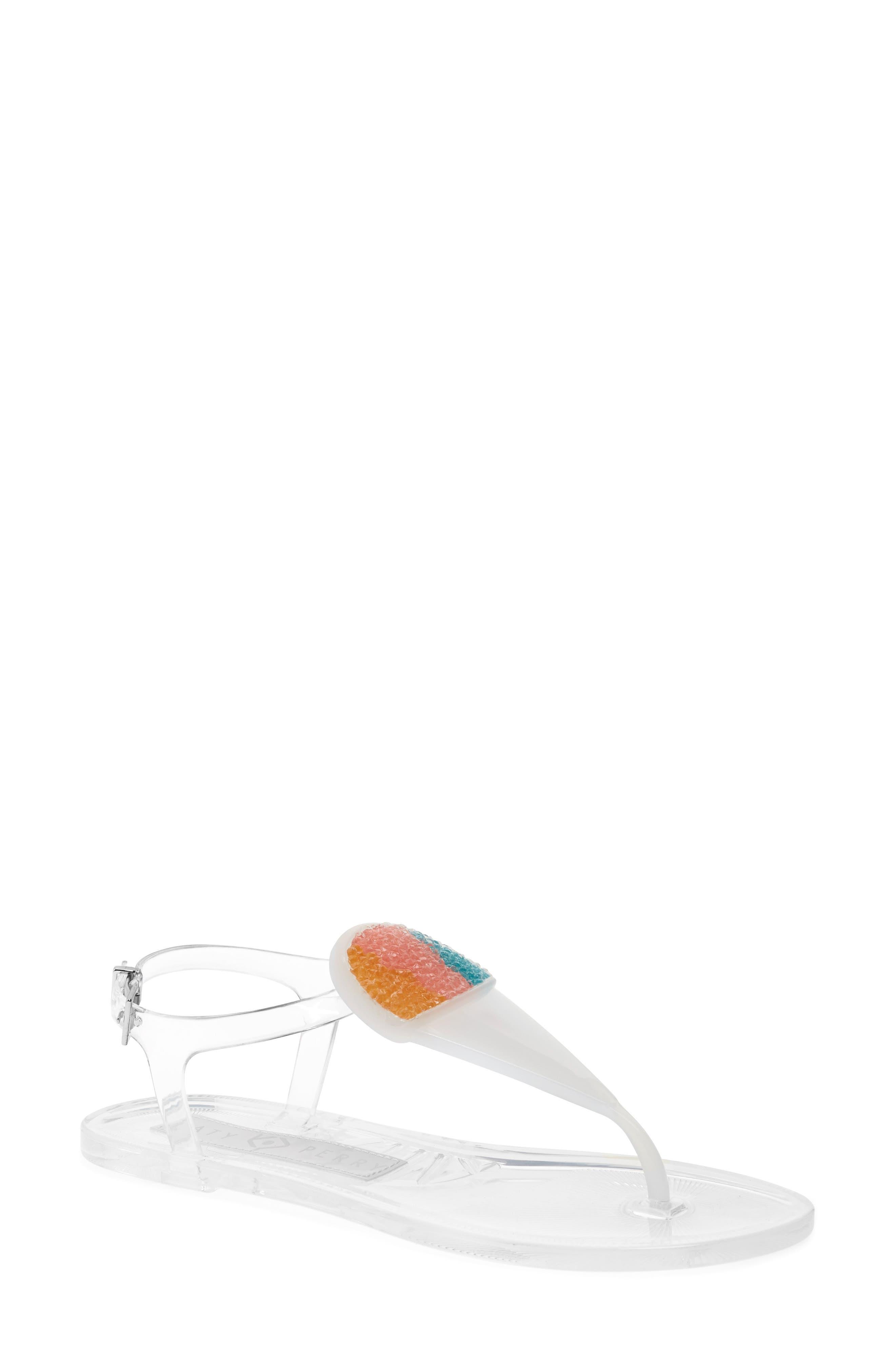 Geli Sandal,                         Main,                         color, Clear