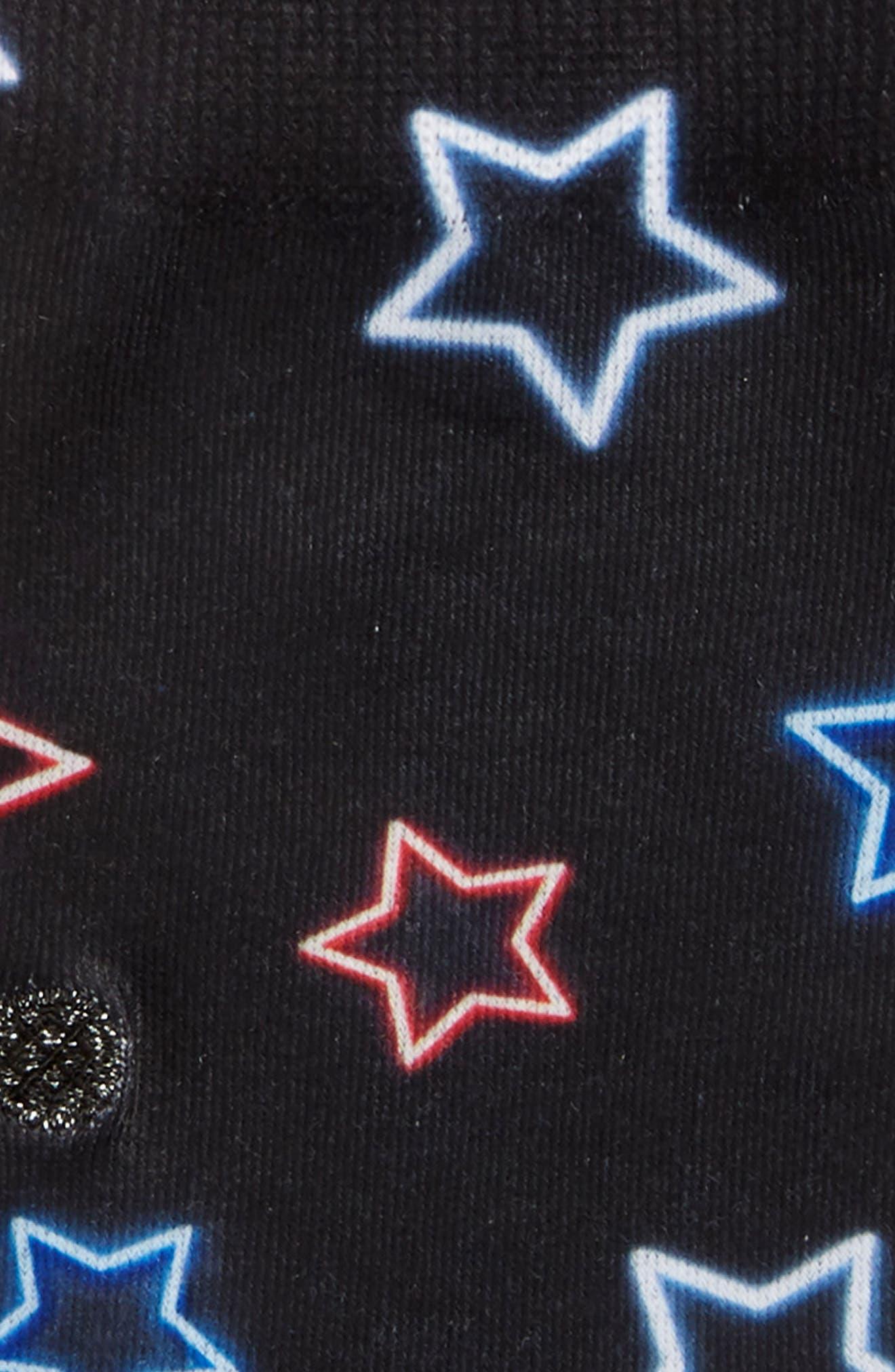 Starshne Socks,                             Alternate thumbnail 2, color,                             Black