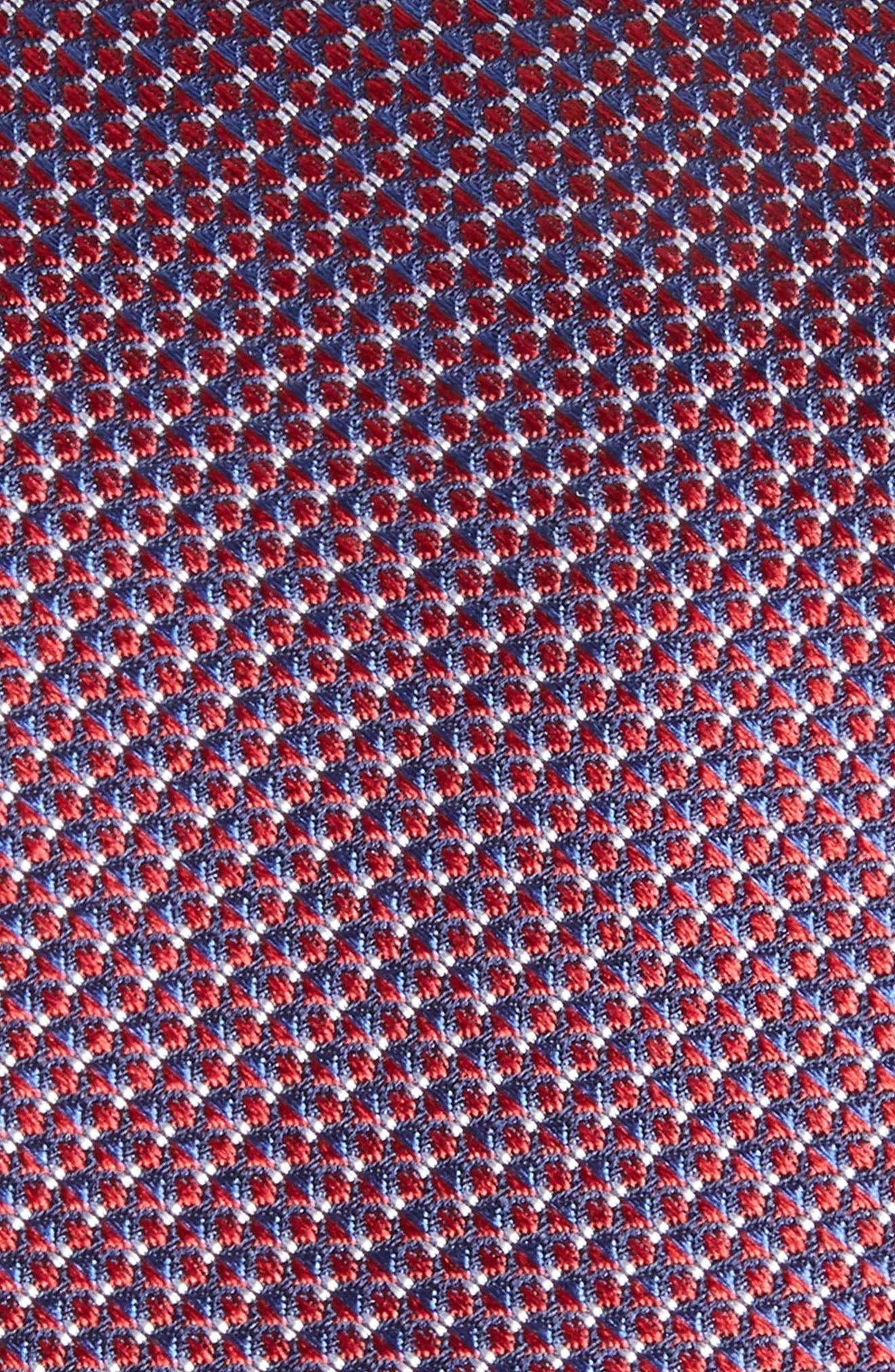 Anser Solid Silk Tie,                             Alternate thumbnail 2, color,                             Red