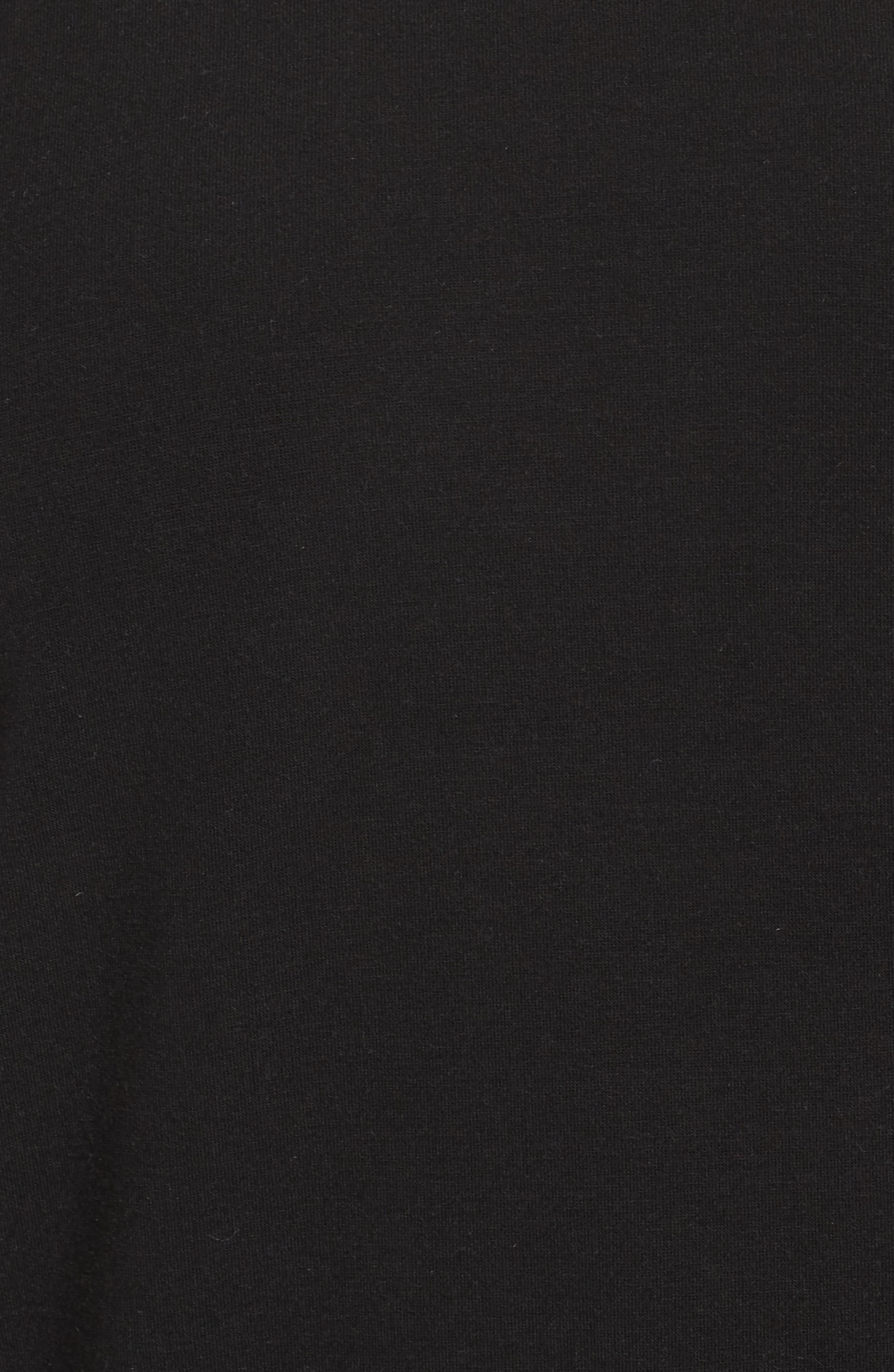 Alternate Image 5  - Caslon® Pocket Fleece Tee (Plus Size)