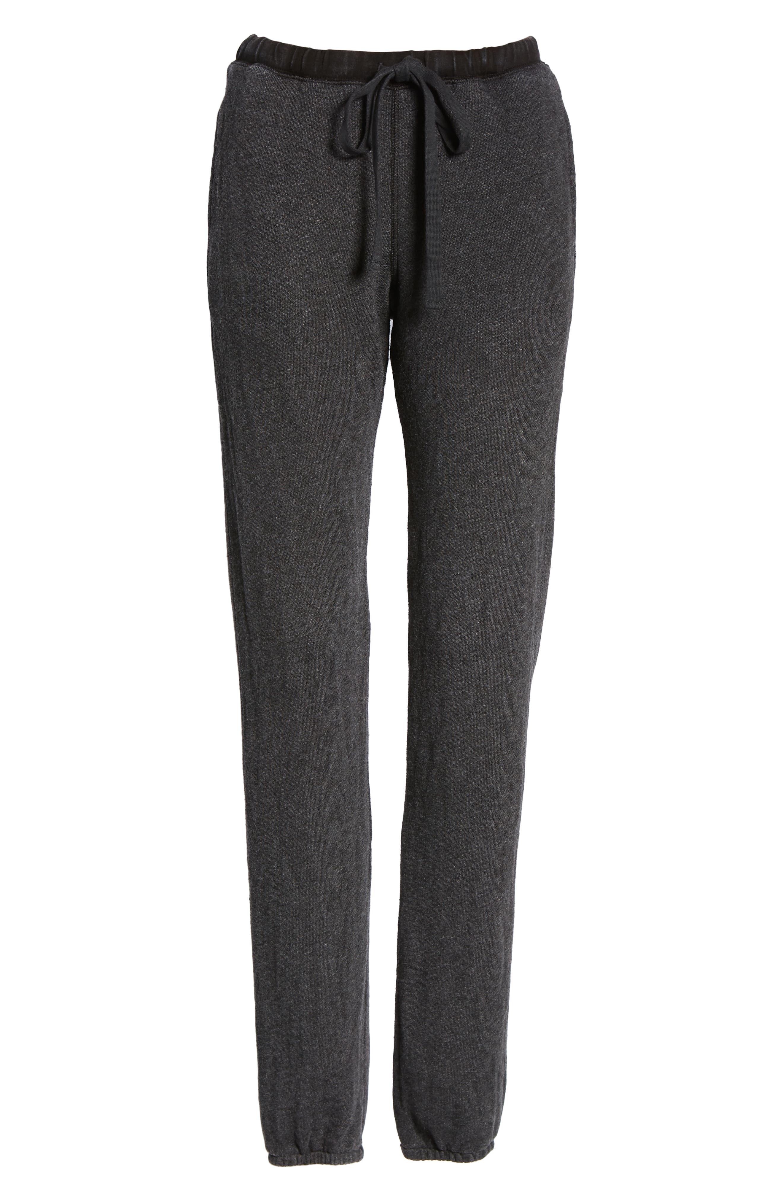 Kiama Lounge Pants,                             Alternate thumbnail 7, color,                             Mw Black