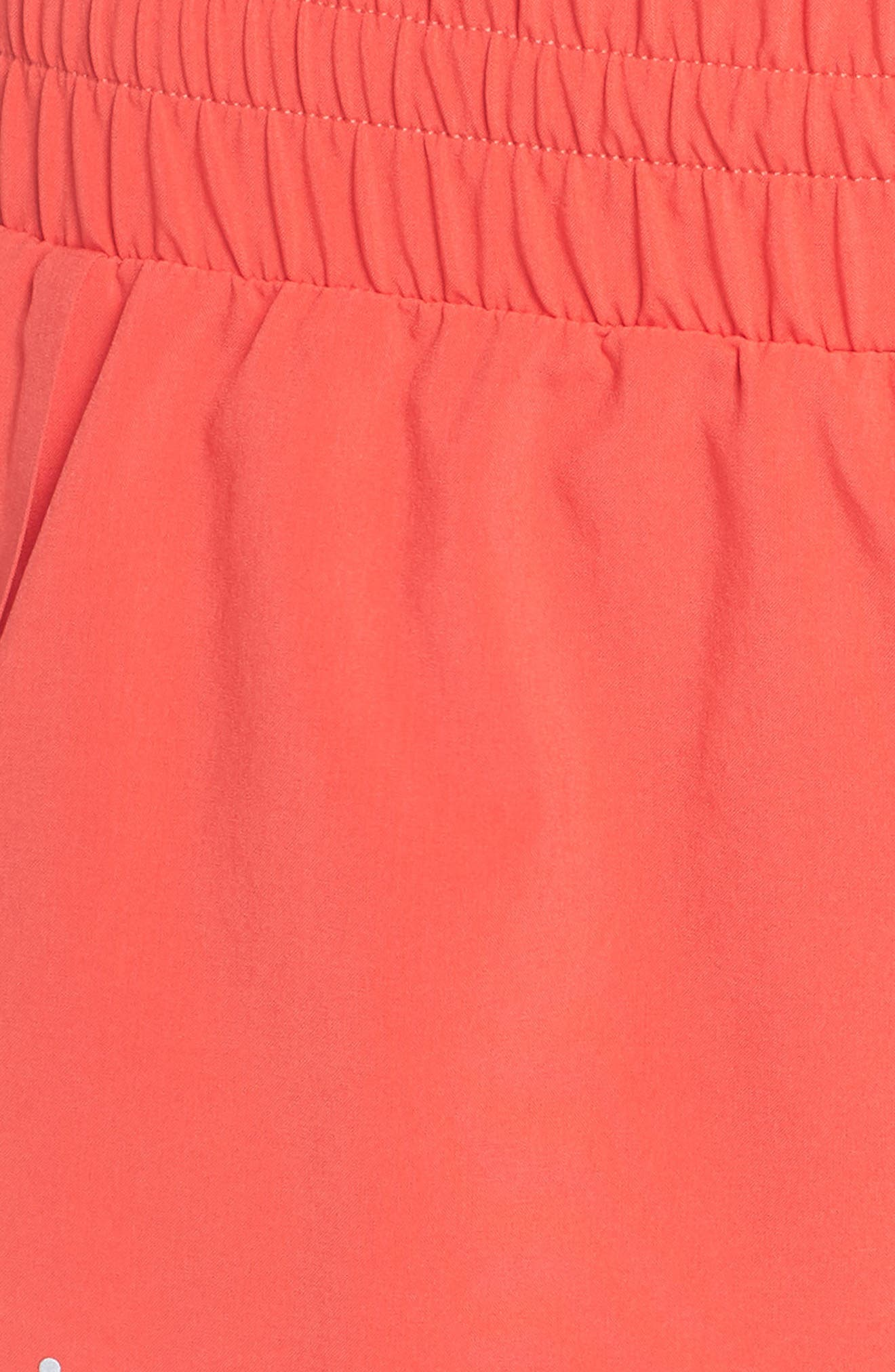 Run Play Shorts,                             Alternate thumbnail 6, color,                             Red Hibiscus