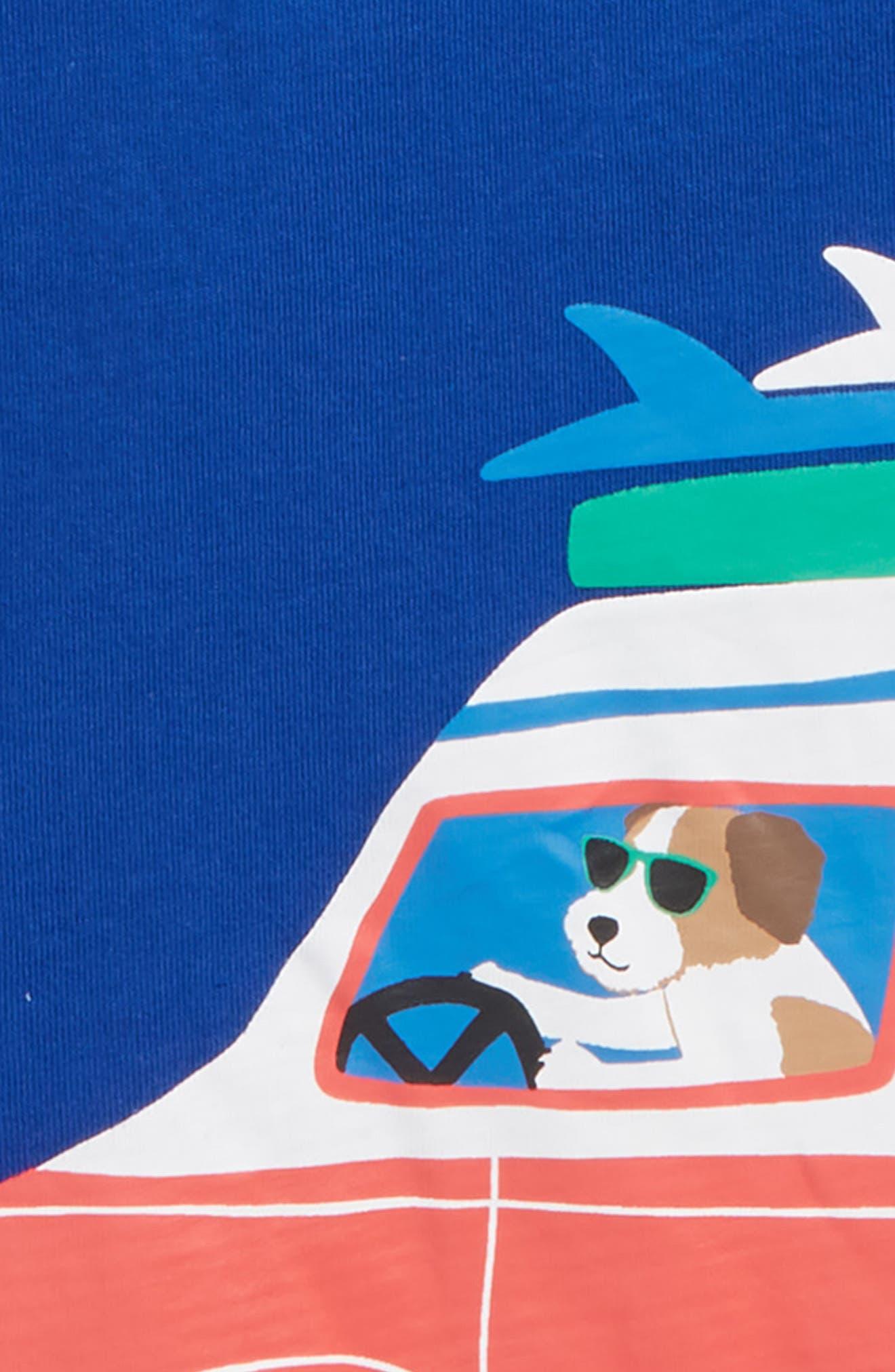 Surf Van Graphic T-Shirt,                             Alternate thumbnail 2, color,                             Orion Blue Surf Friends