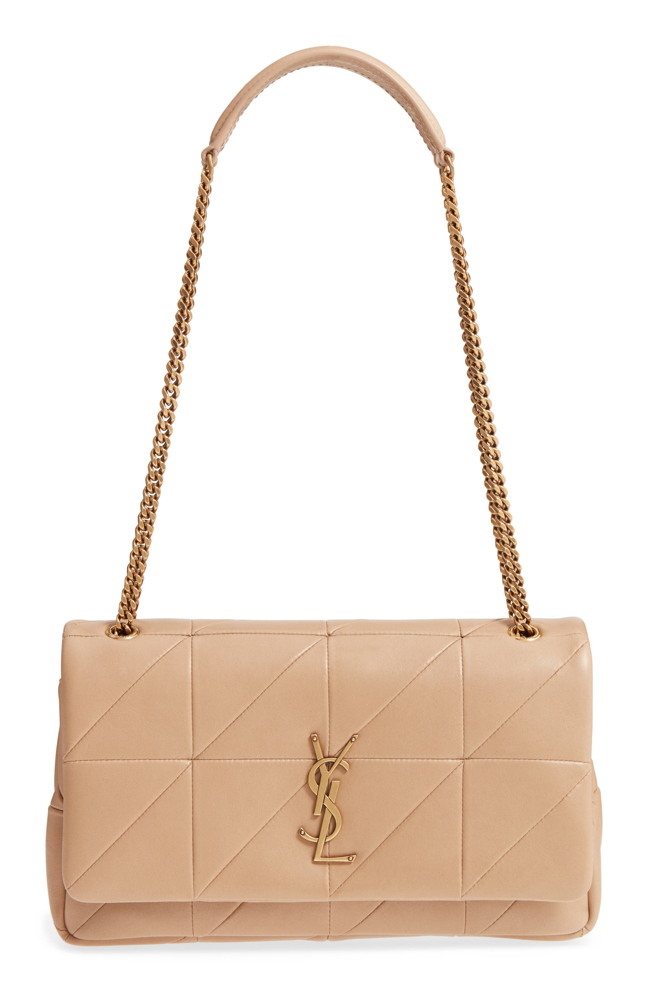 Saint Laurent Jamie Patchwork Leather Shoulder Bag