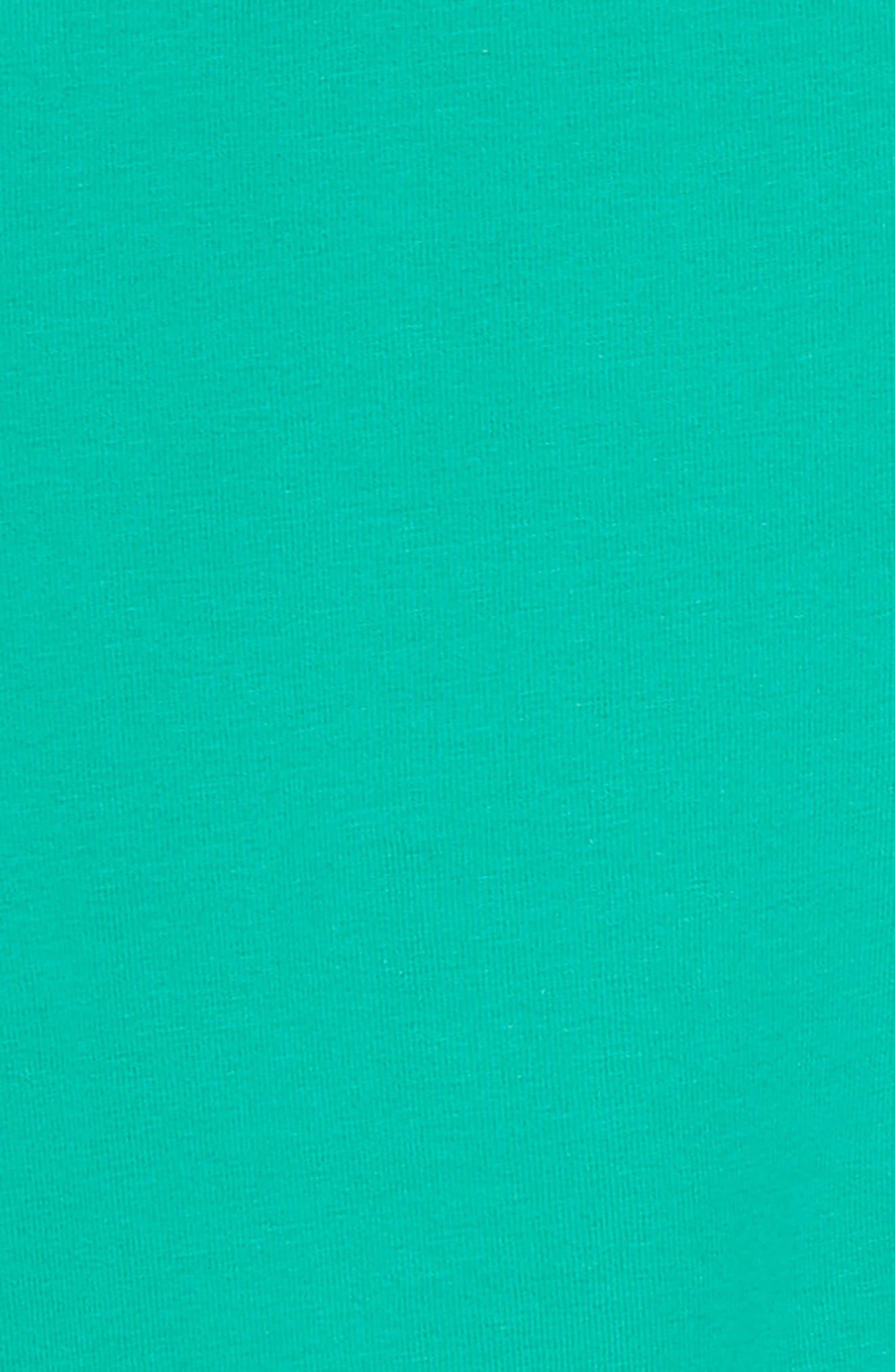 Crop Leggings,                             Alternate thumbnail 2, color,                             Deep Green
