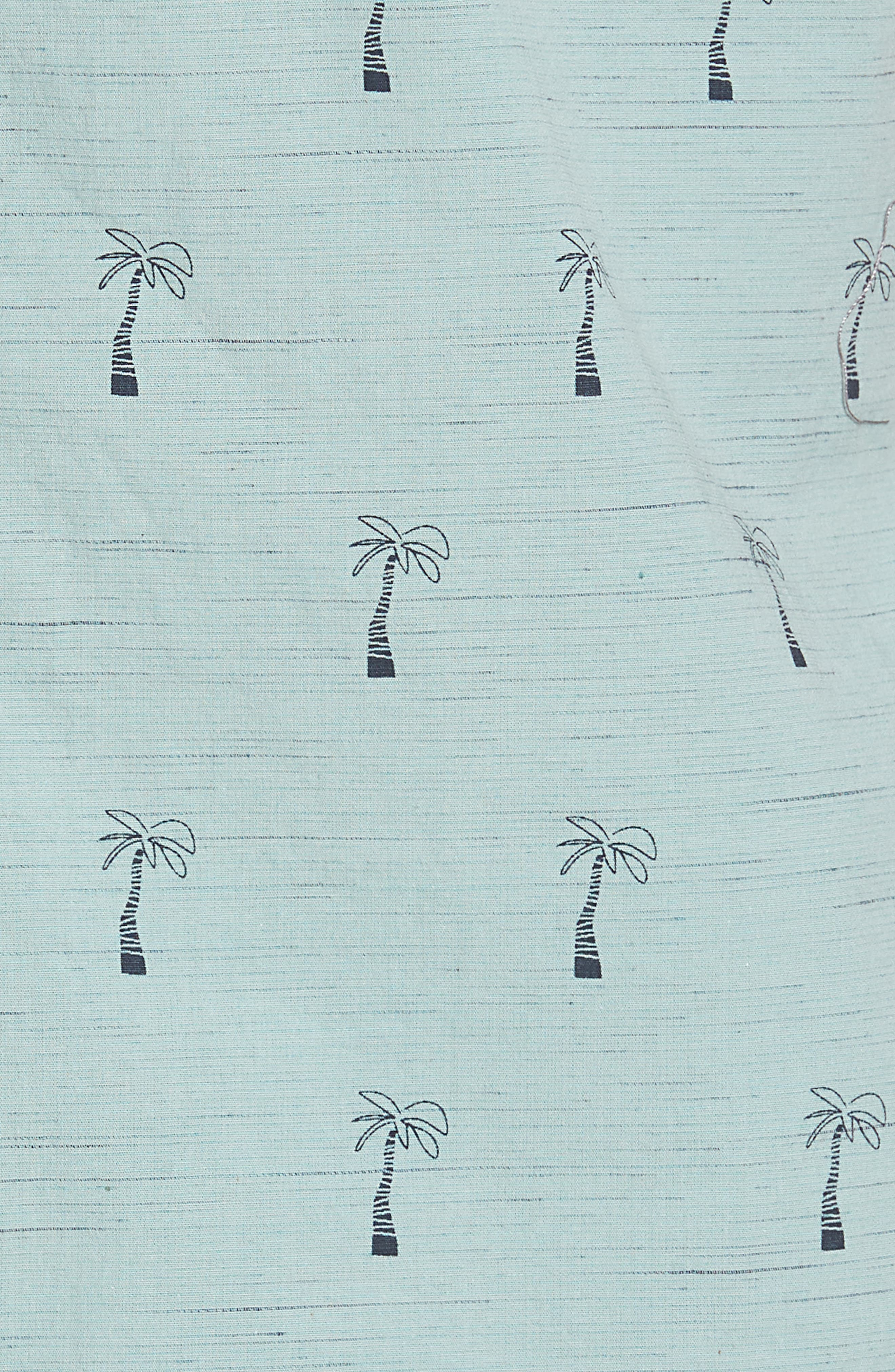 Riviera Woven Shirt,                             Alternate thumbnail 5, color,                             Aqua