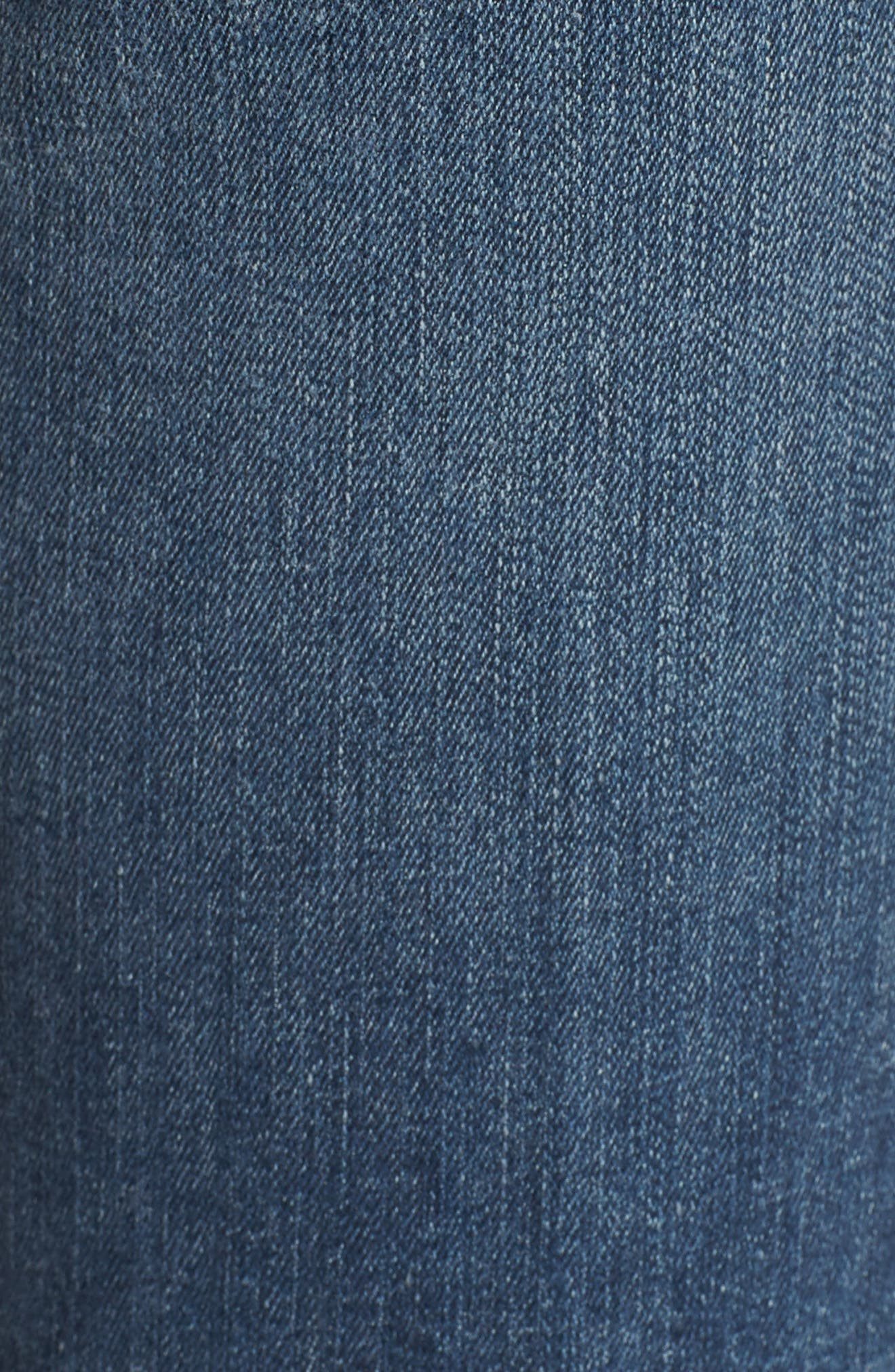 Newton Crop Skinny Jeans,                             Alternate thumbnail 6, color,                             Barthelemy Gardens