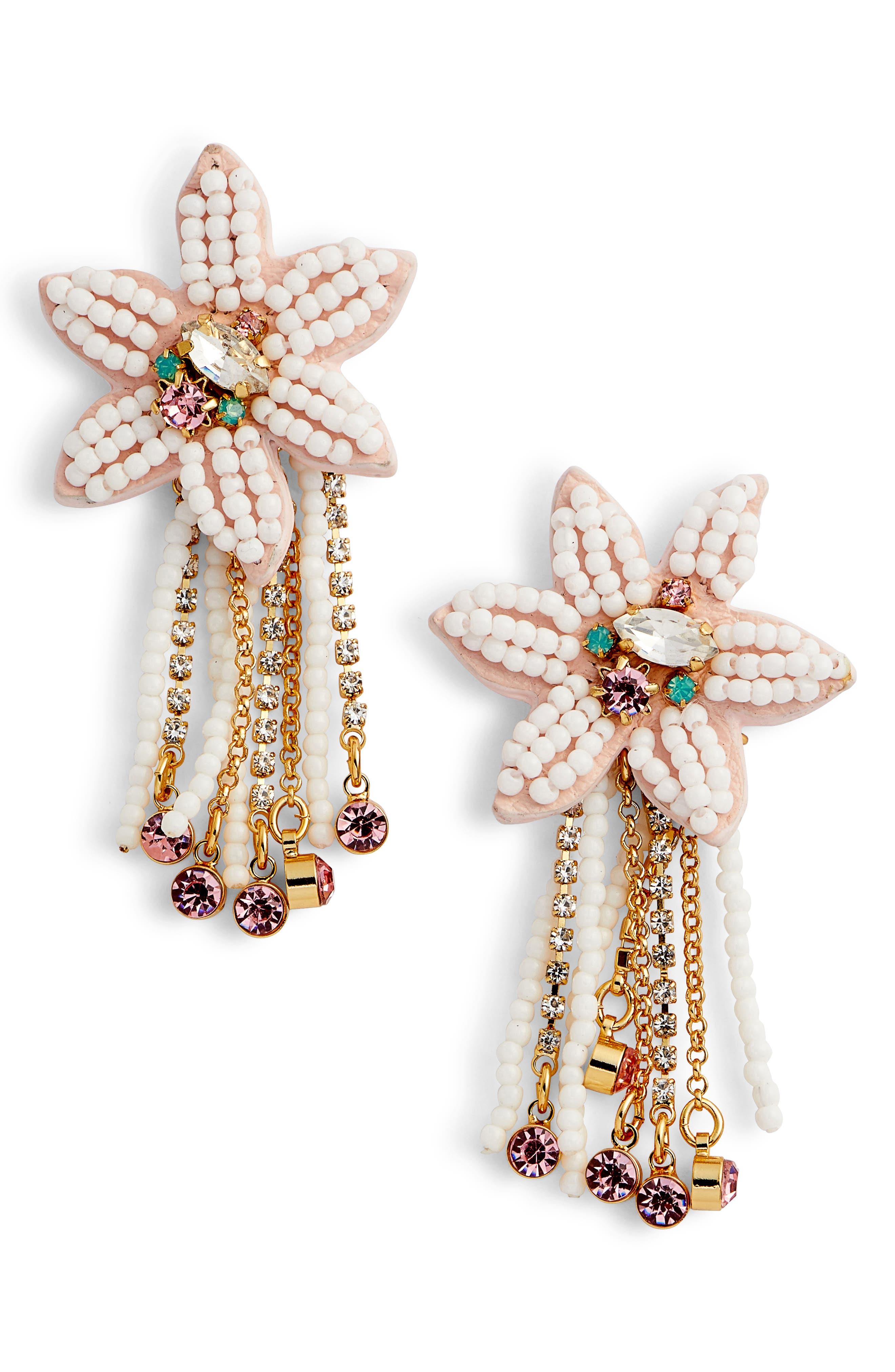 Rebecca Minkoff Calla Statement Earrings