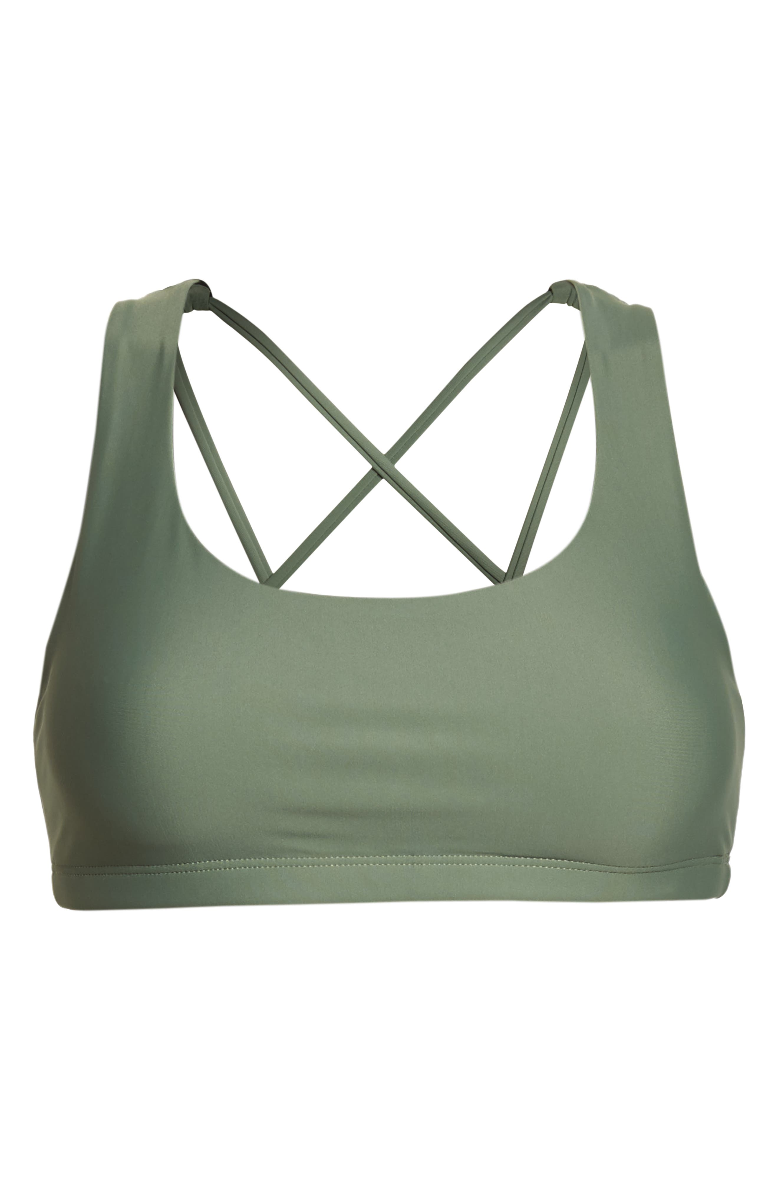 Mudra Sports Bra,                             Alternate thumbnail 7, color,                             Sage