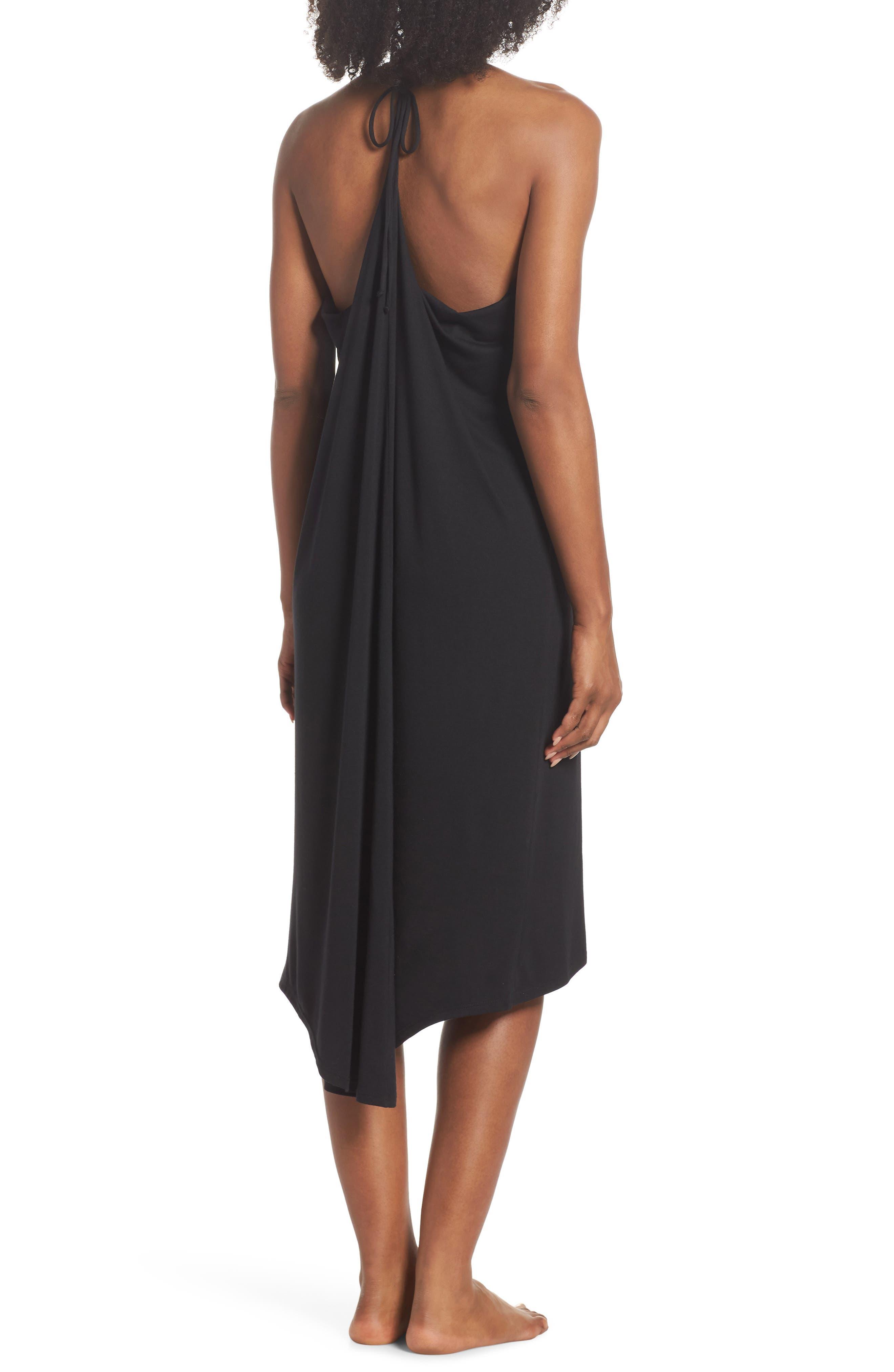 Yoga Dress,                             Alternate thumbnail 2, color,                             Black