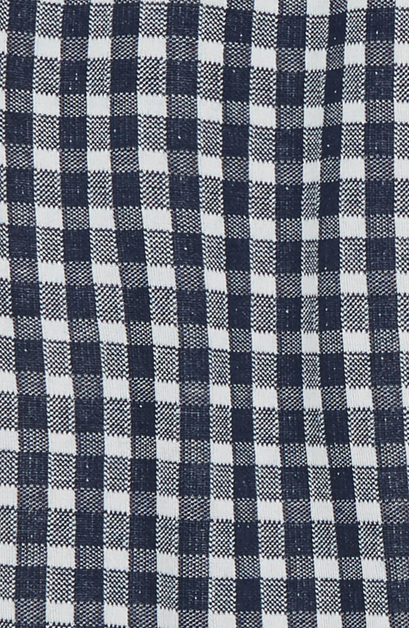 Plaid Pants,                             Alternate thumbnail 2, color,                             Navy/ White