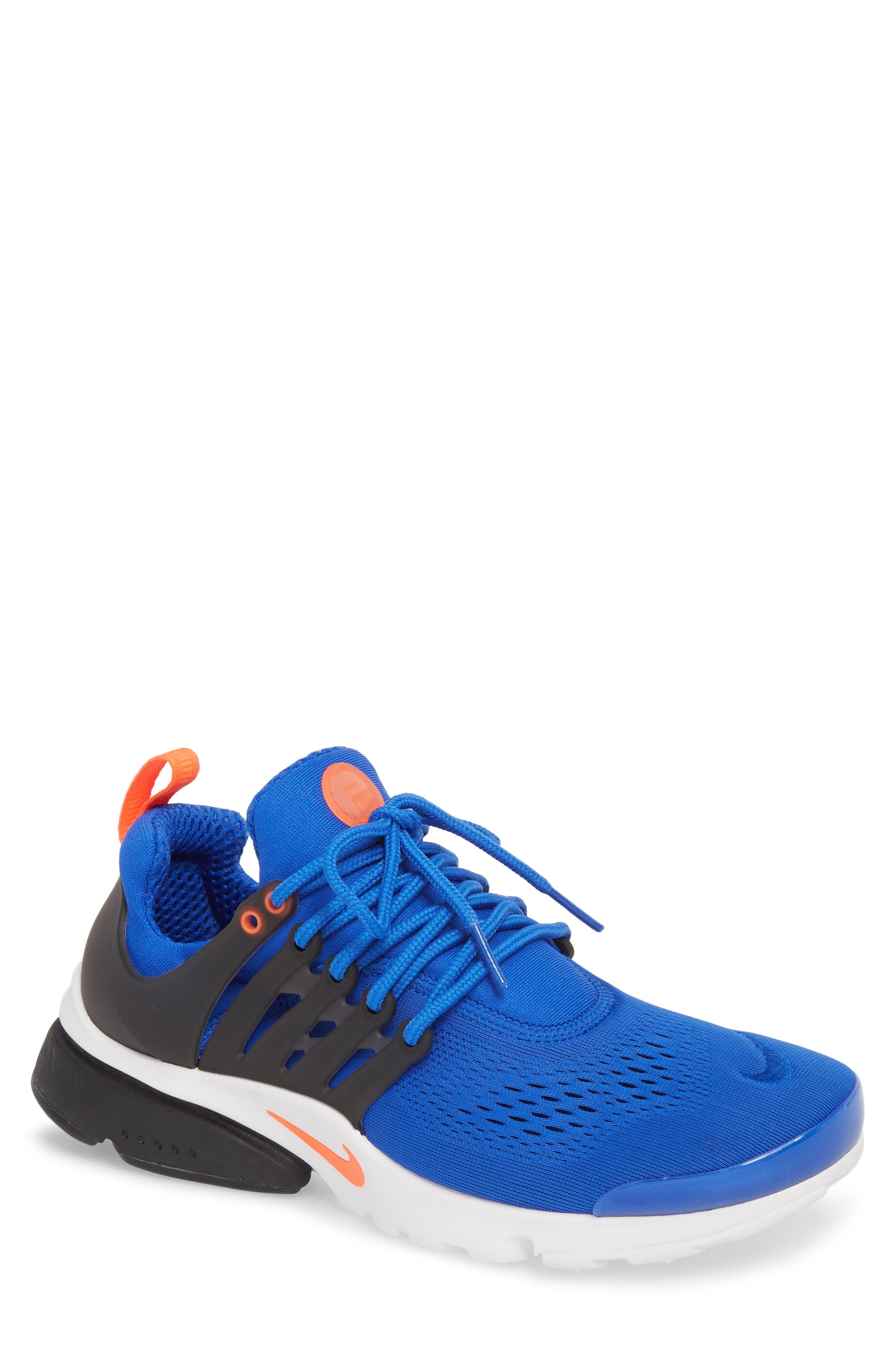 Air Presto Ultra Breathe Sneaker,                             Main thumbnail 1, color,                             Racer Blue/ Total Crimson