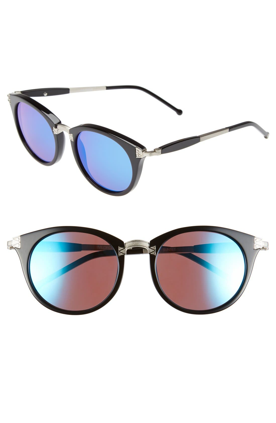 Alternate Image 1 Selected - Wildfox 'Sunset Deluxe' 48mm Retro Sunglasses