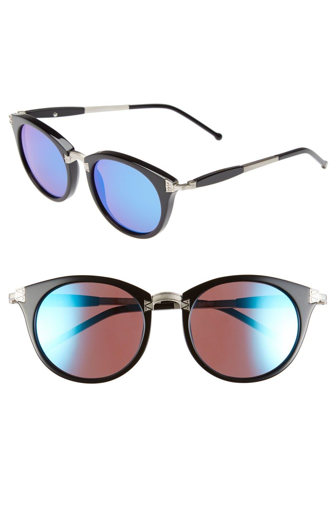 Main Image - Wildfox 'Sunset Deluxe' 48mm Retro Sunglasses
