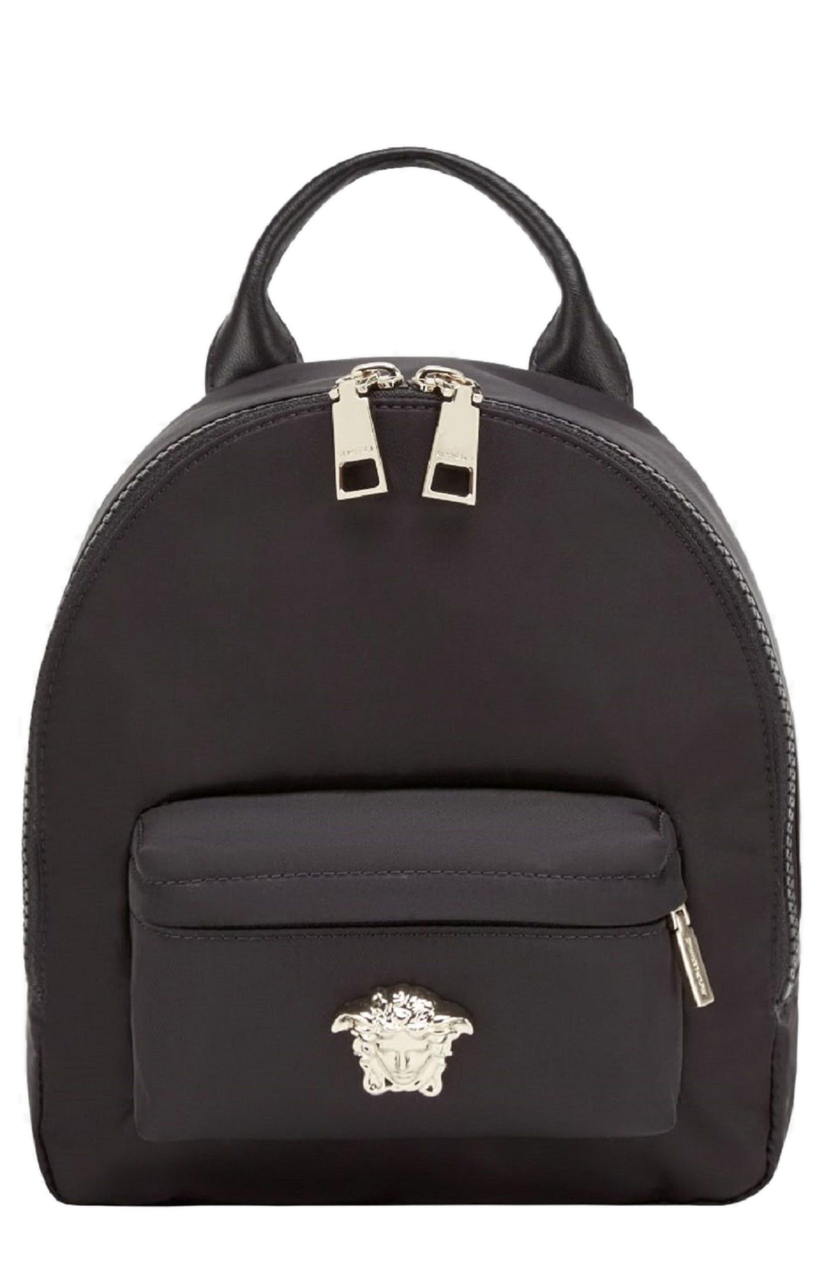 Versace Mini Palazzo Nylon Backpack