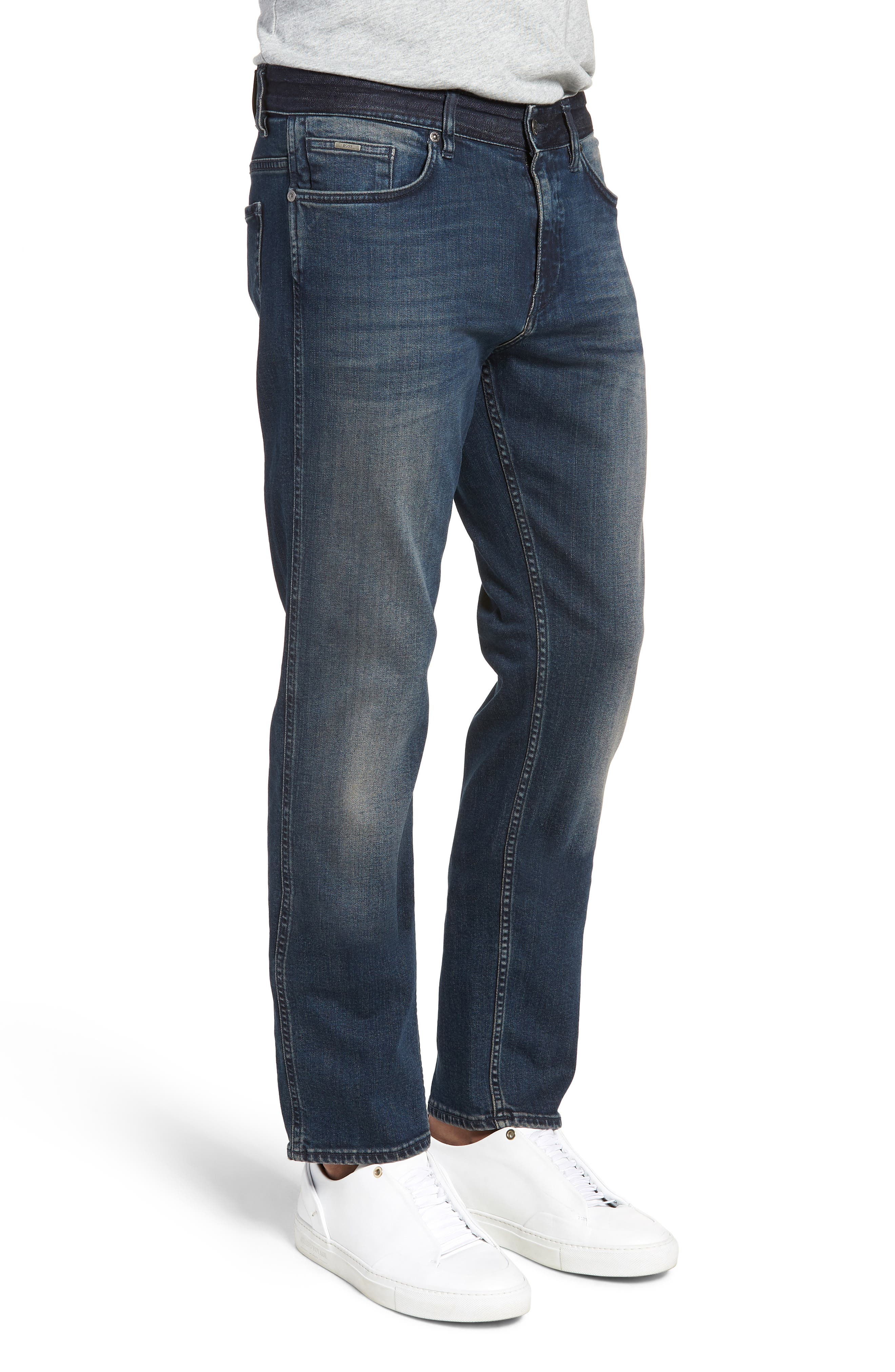 Delaware Slim Fit Jeans,                             Alternate thumbnail 3, color,                             Blue