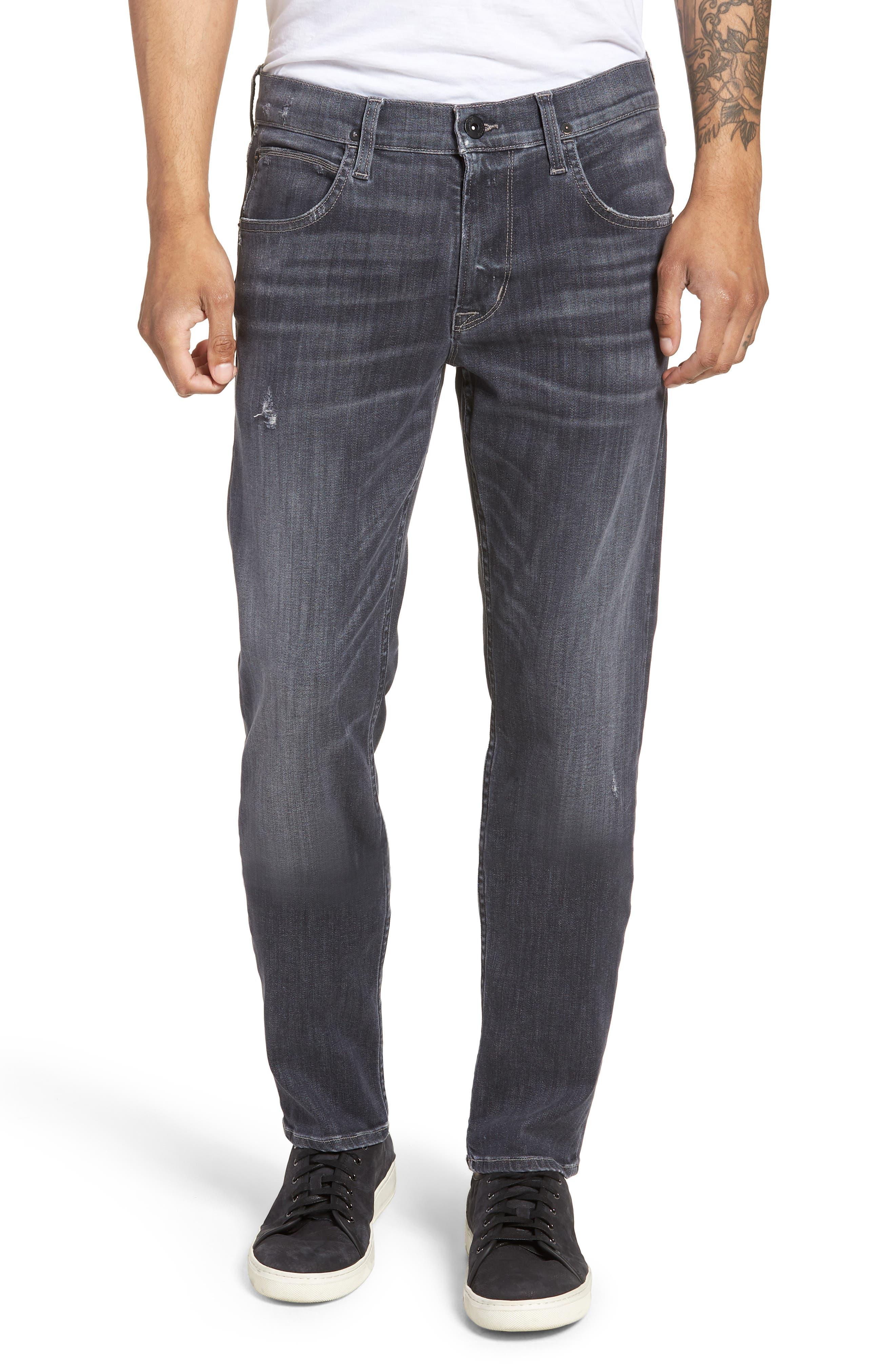 Blake Slim Fit Jeans,                             Main thumbnail 1, color,                             Silver Lake