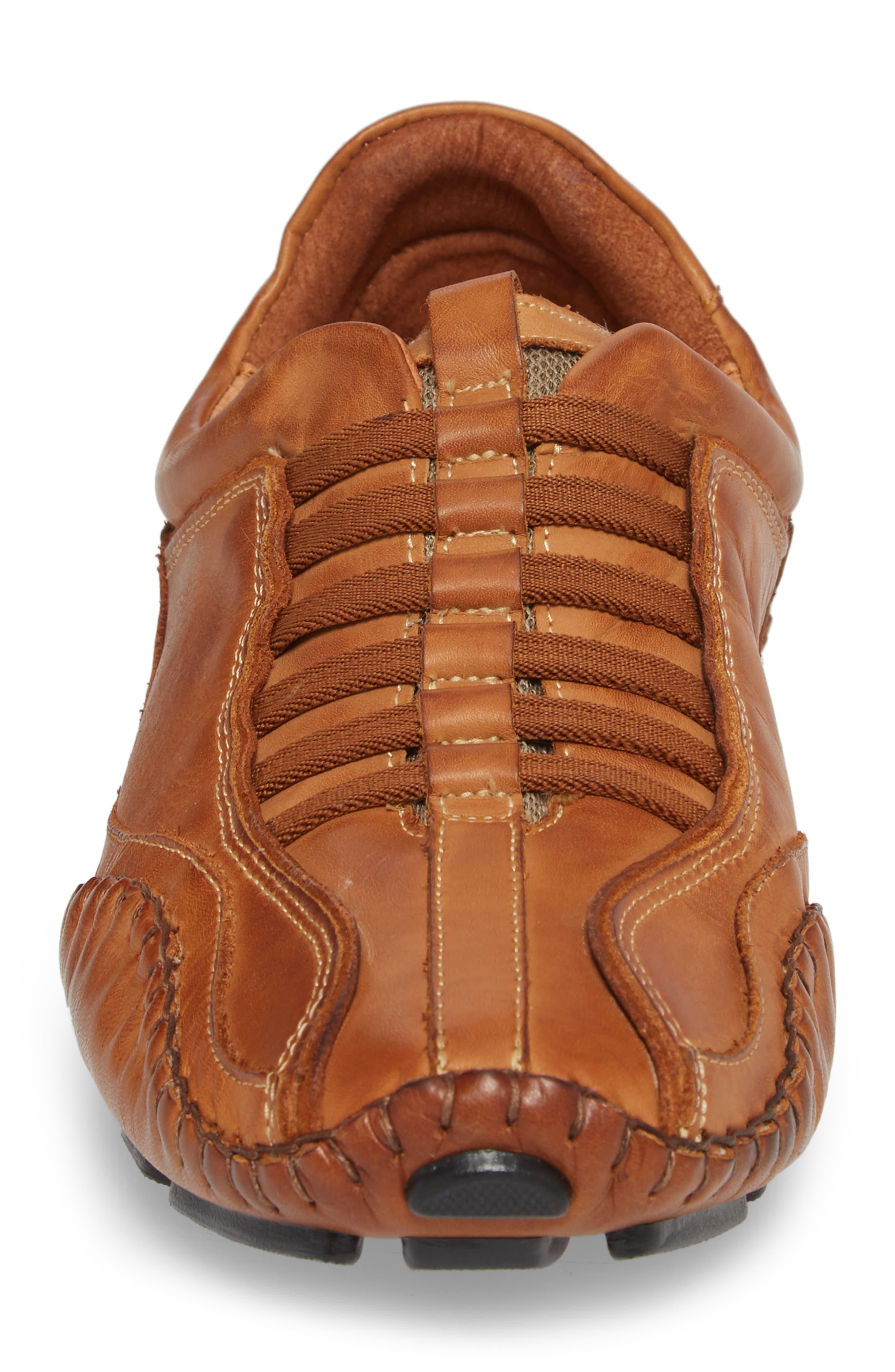 'Fuencarral' Driving Shoe,                             Alternate thumbnail 4, color,                             Light Brown