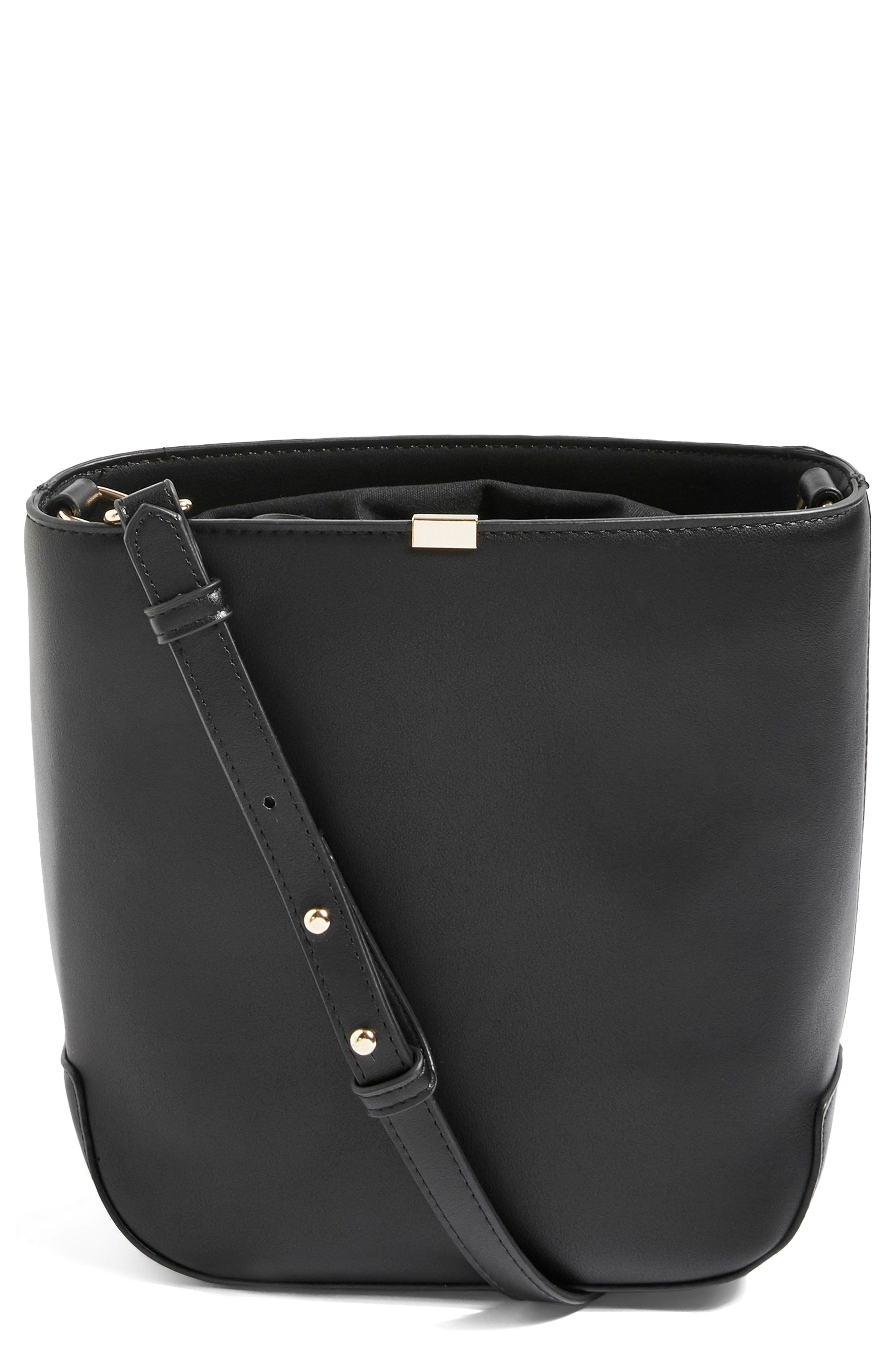 Topshop Romy Bucket Shoulder Handbag