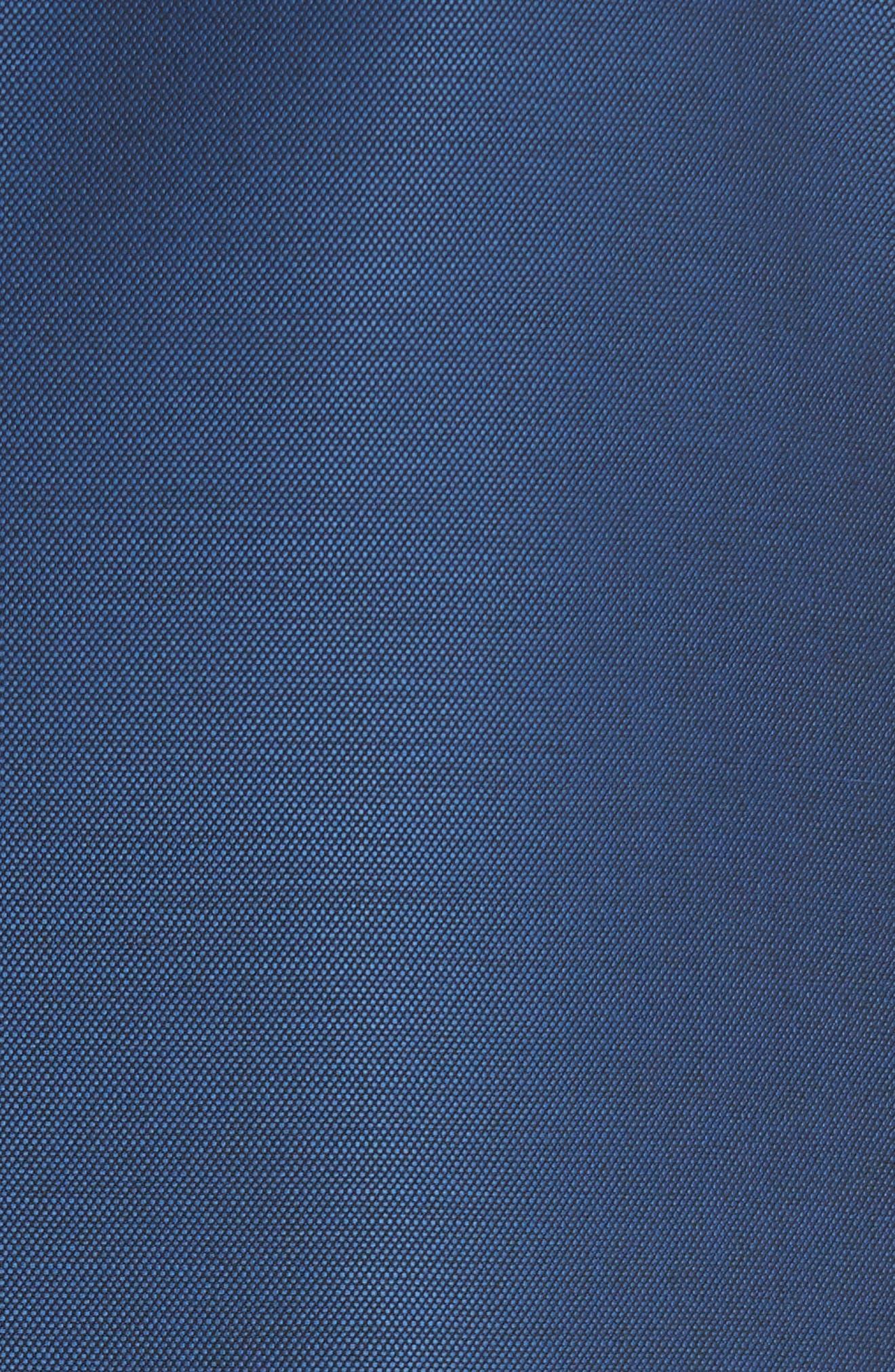 Classic Fit Solid Wool Suit,                             Alternate thumbnail 7, color,                             Blue