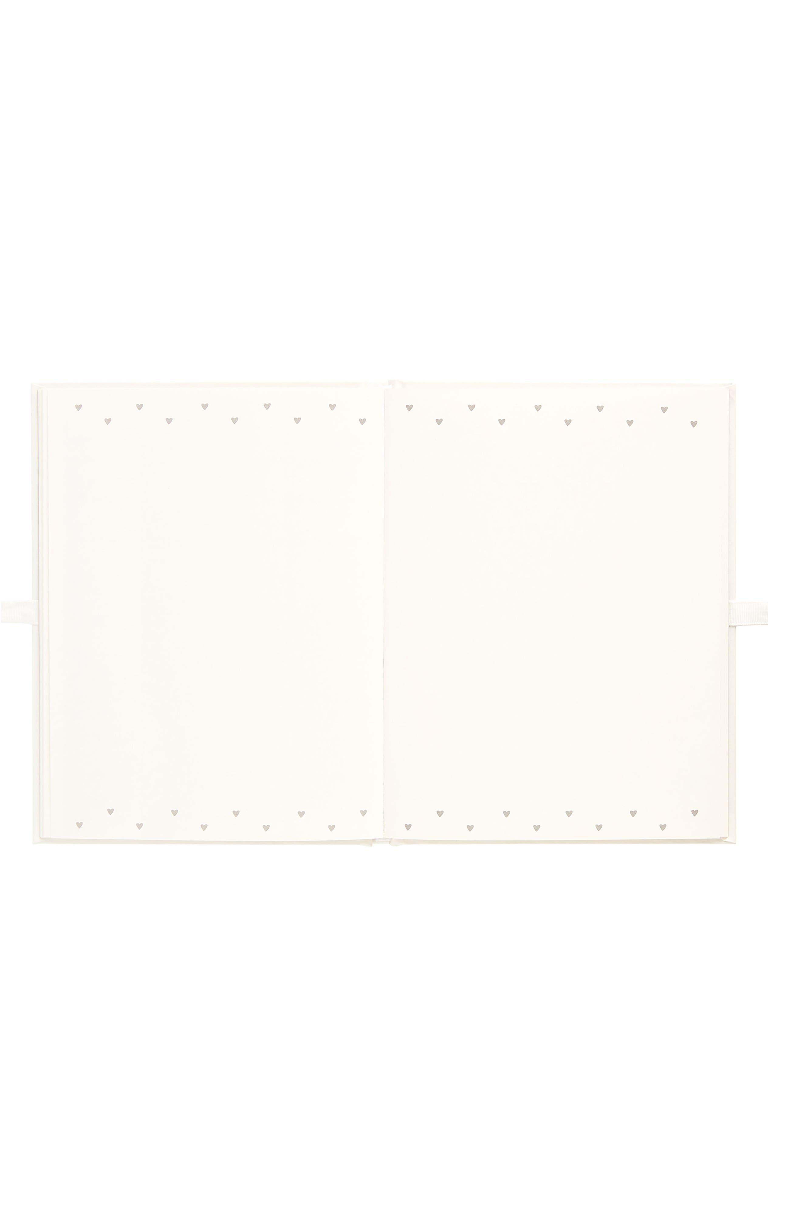 Hardcover Always & Forever Bachelorette Memory Book,                             Alternate thumbnail 3, color,                             White