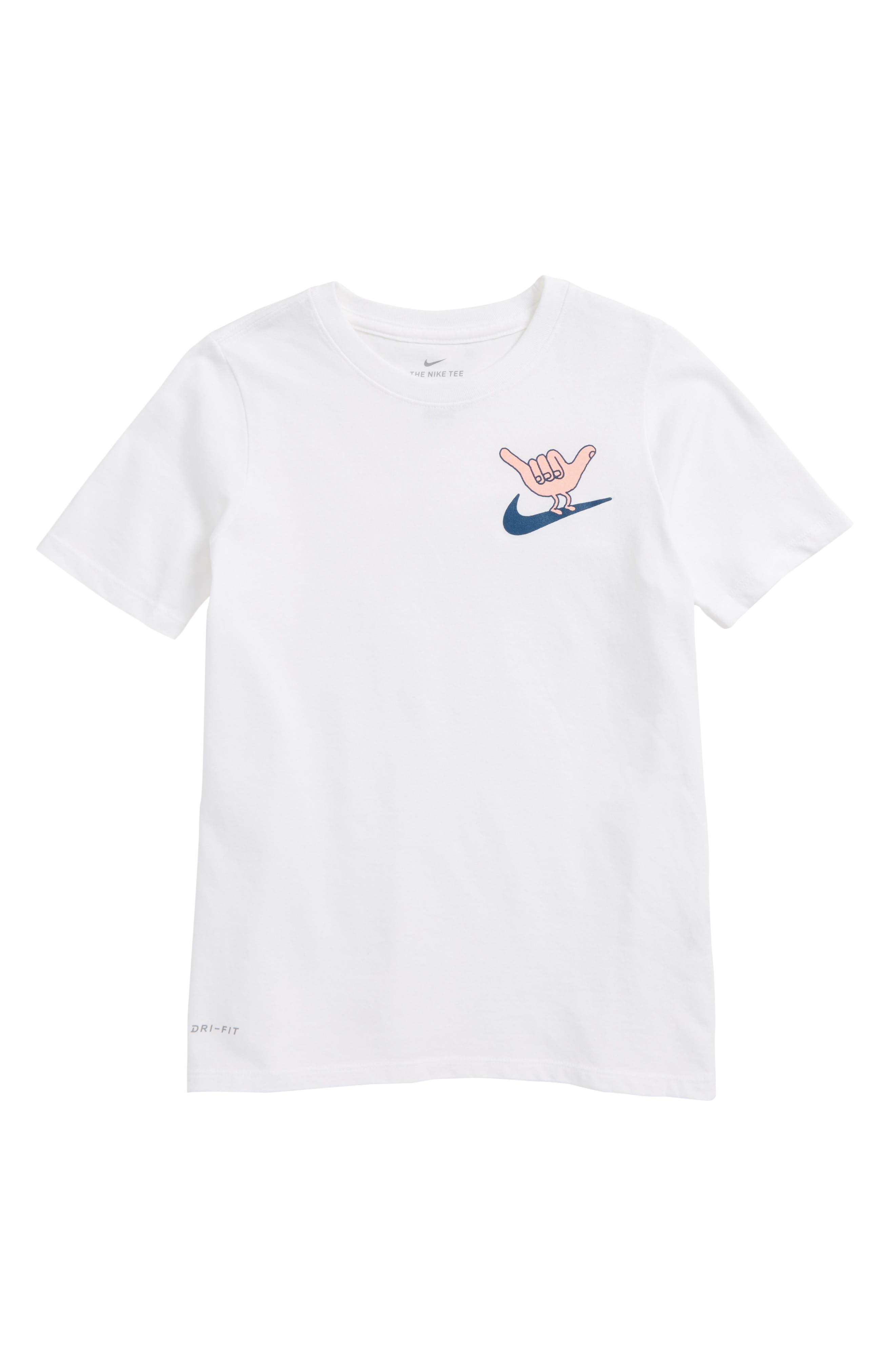 Dry Hang Loose Graphic T-Shirt,                             Main thumbnail 1, color,                             White