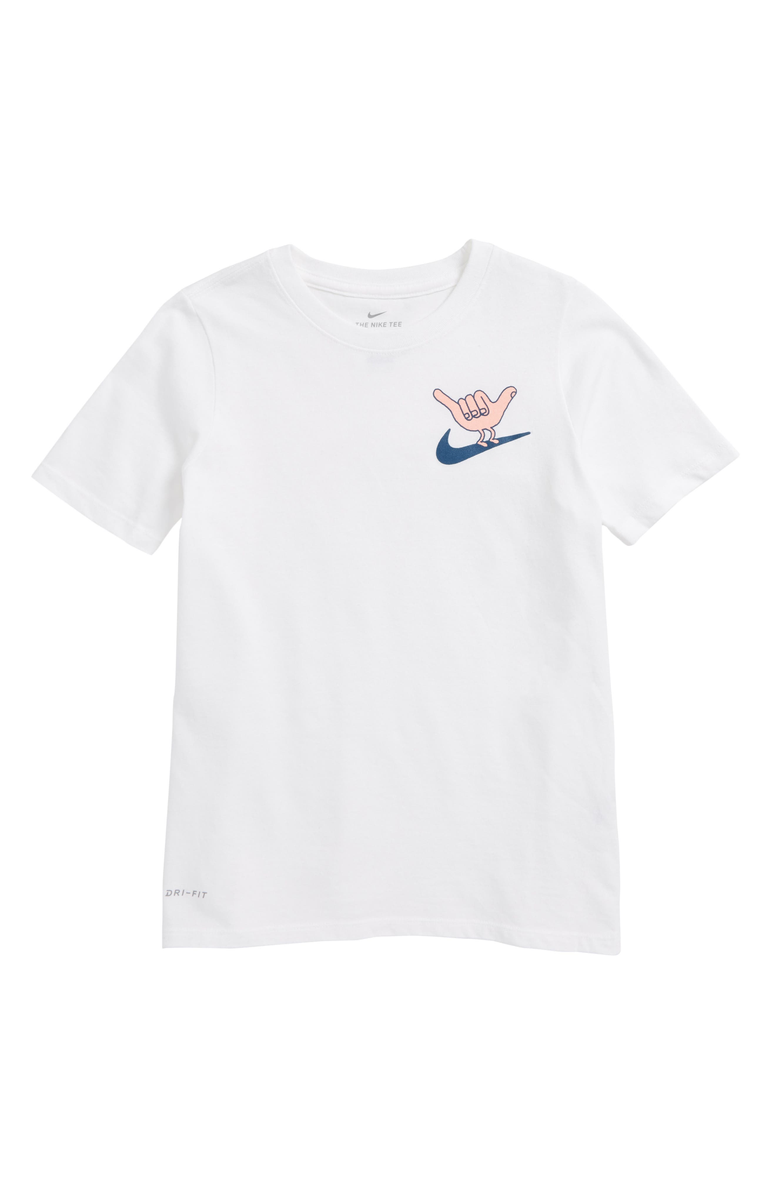 Dry Hang Loose Graphic T-Shirt,                         Main,                         color, White