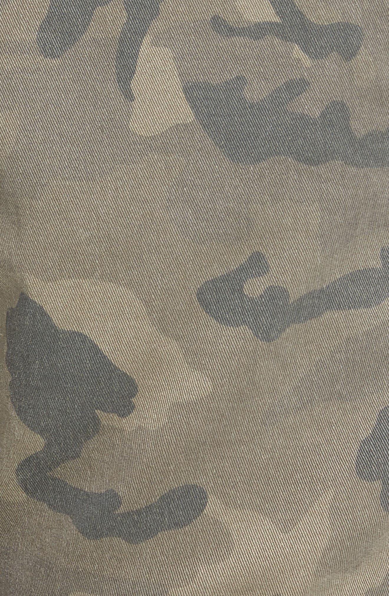 Sergeant Slim Fit Pants,                             Alternate thumbnail 5, color,                             Airwolf Camo