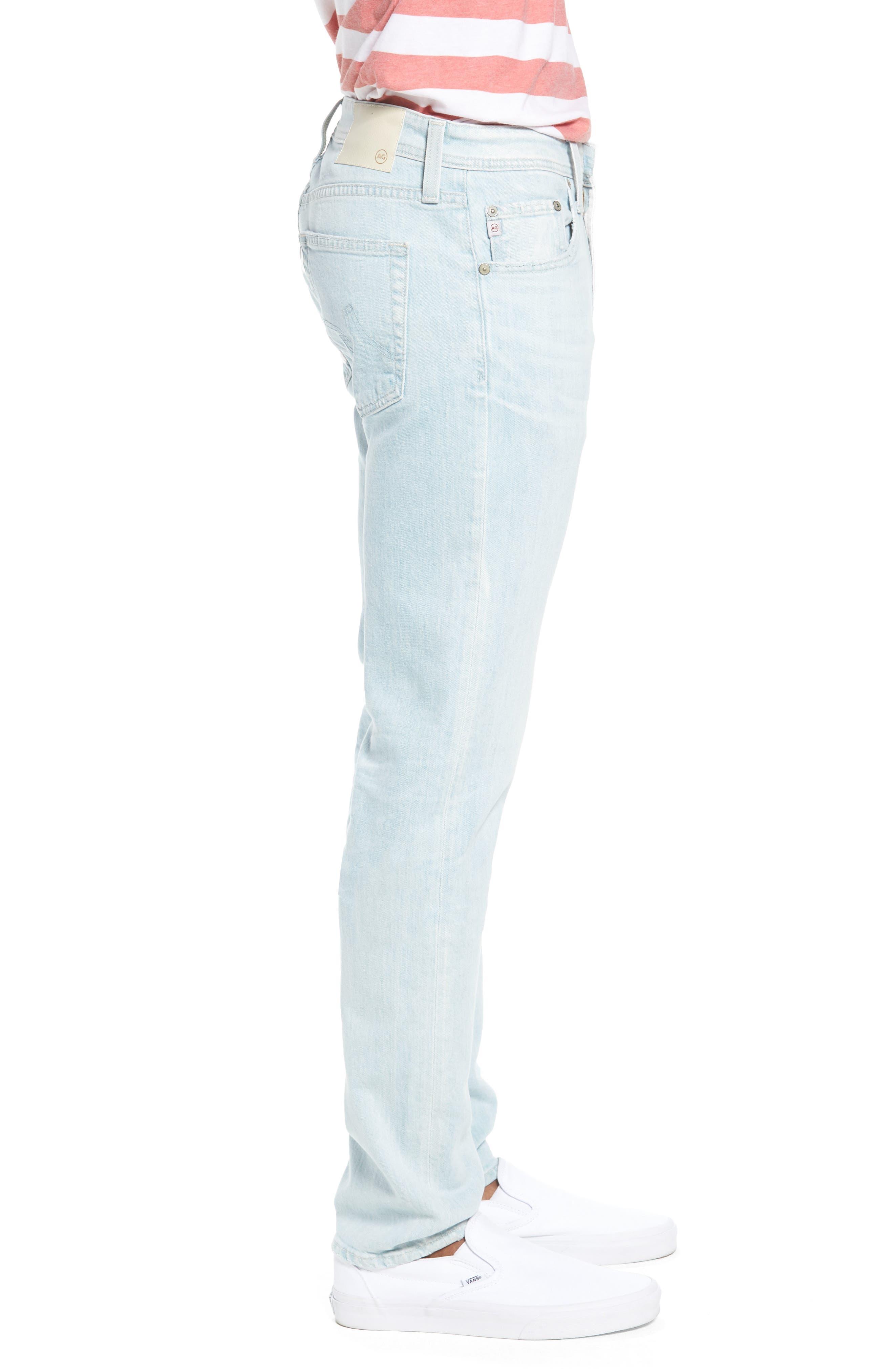 Dylan Skinny Fit Jeans,                             Alternate thumbnail 3, color,                             28 Years Salt Mist