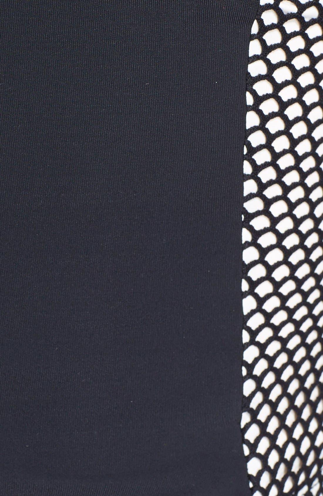 Alternate Image 4  - Blue Life Zip Front Crop Camisole