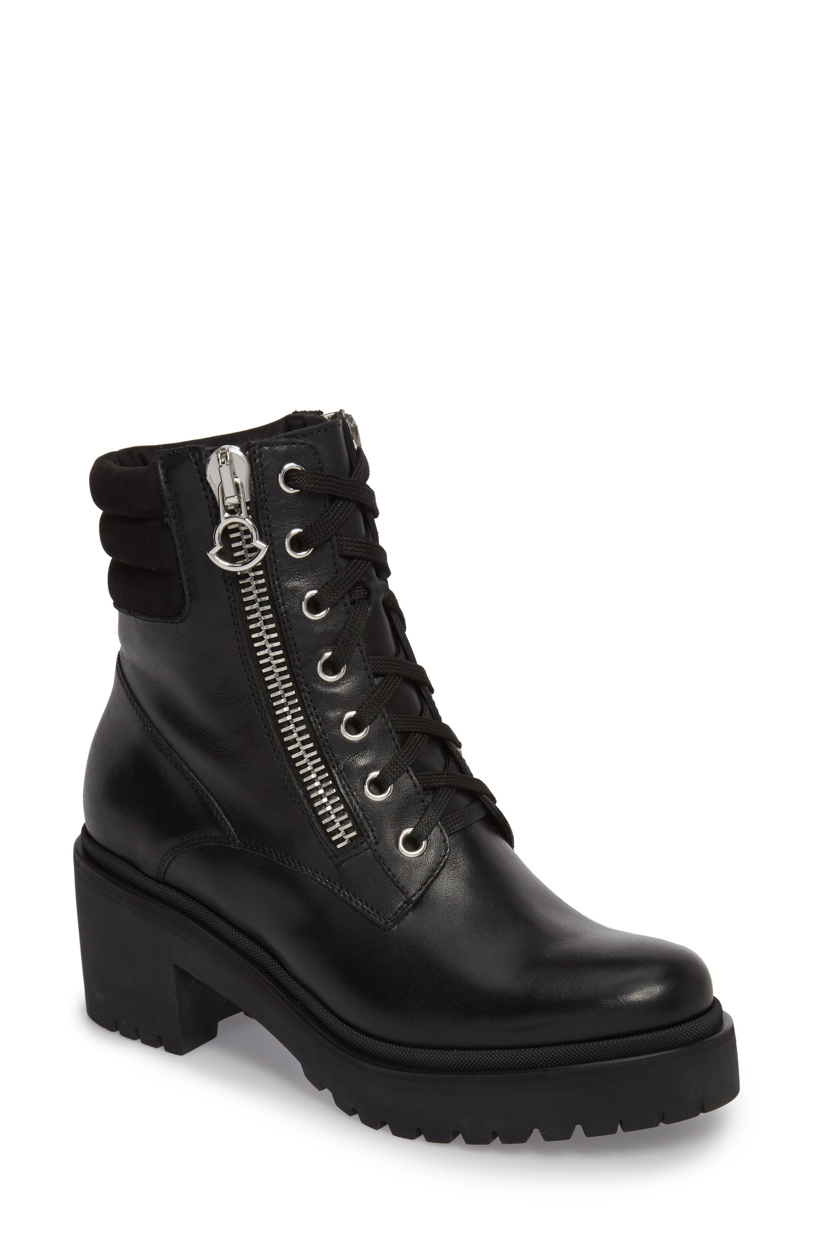 Viviane Combat Boot by Moncler