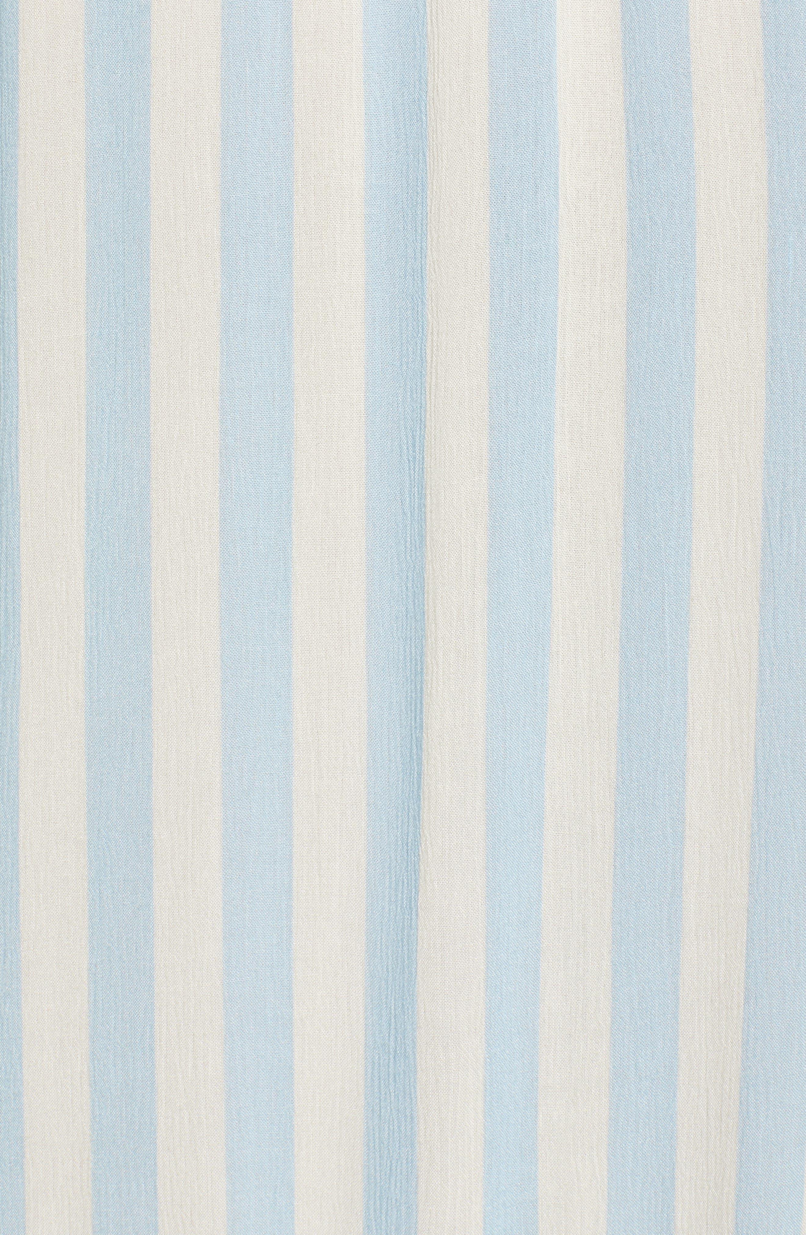 Derinda Dress,                             Alternate thumbnail 6, color,                             Blue Multi
