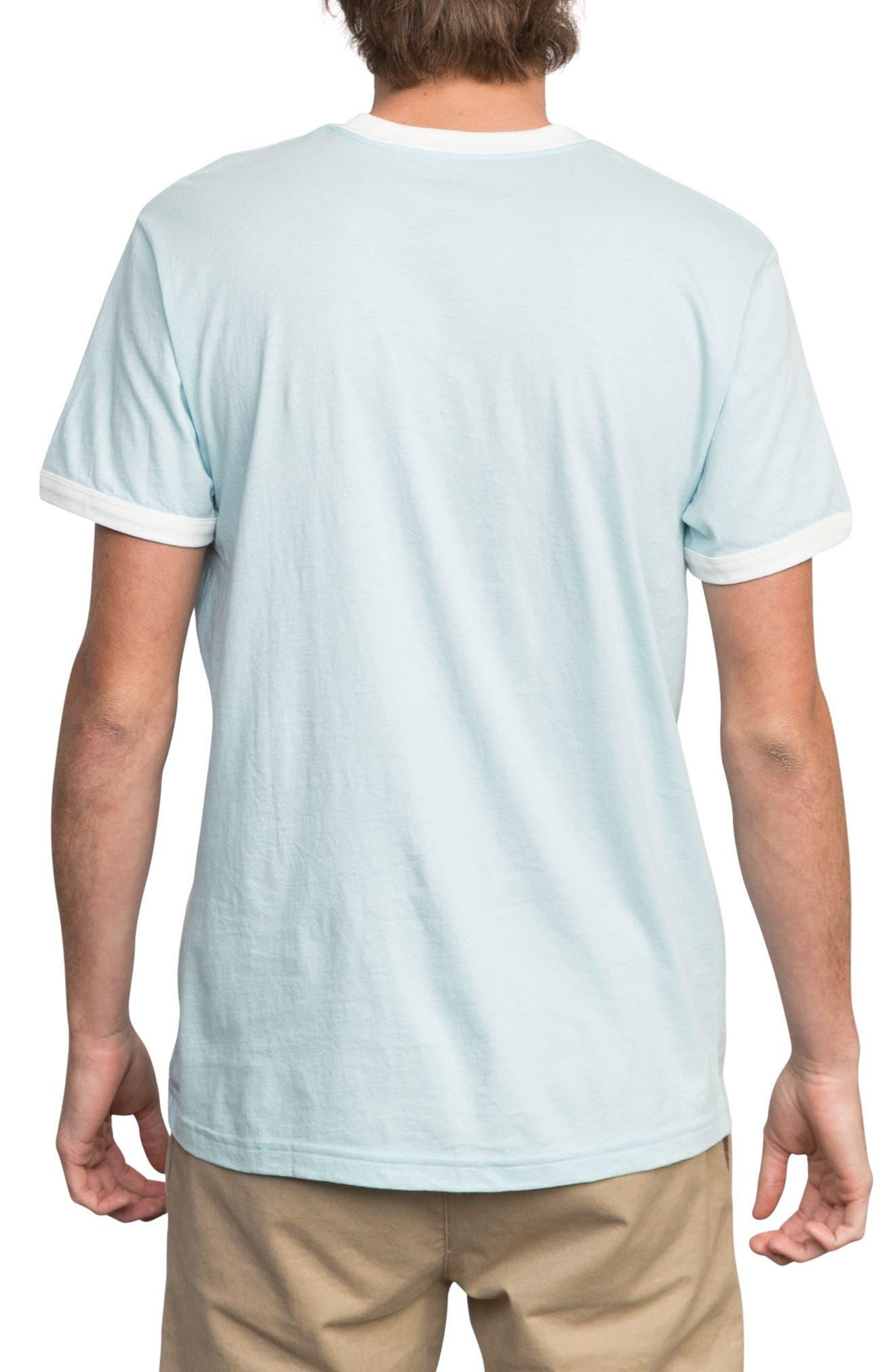 Big Network Ringer T-Shirt,                             Alternate thumbnail 2, color,                             Cosmos