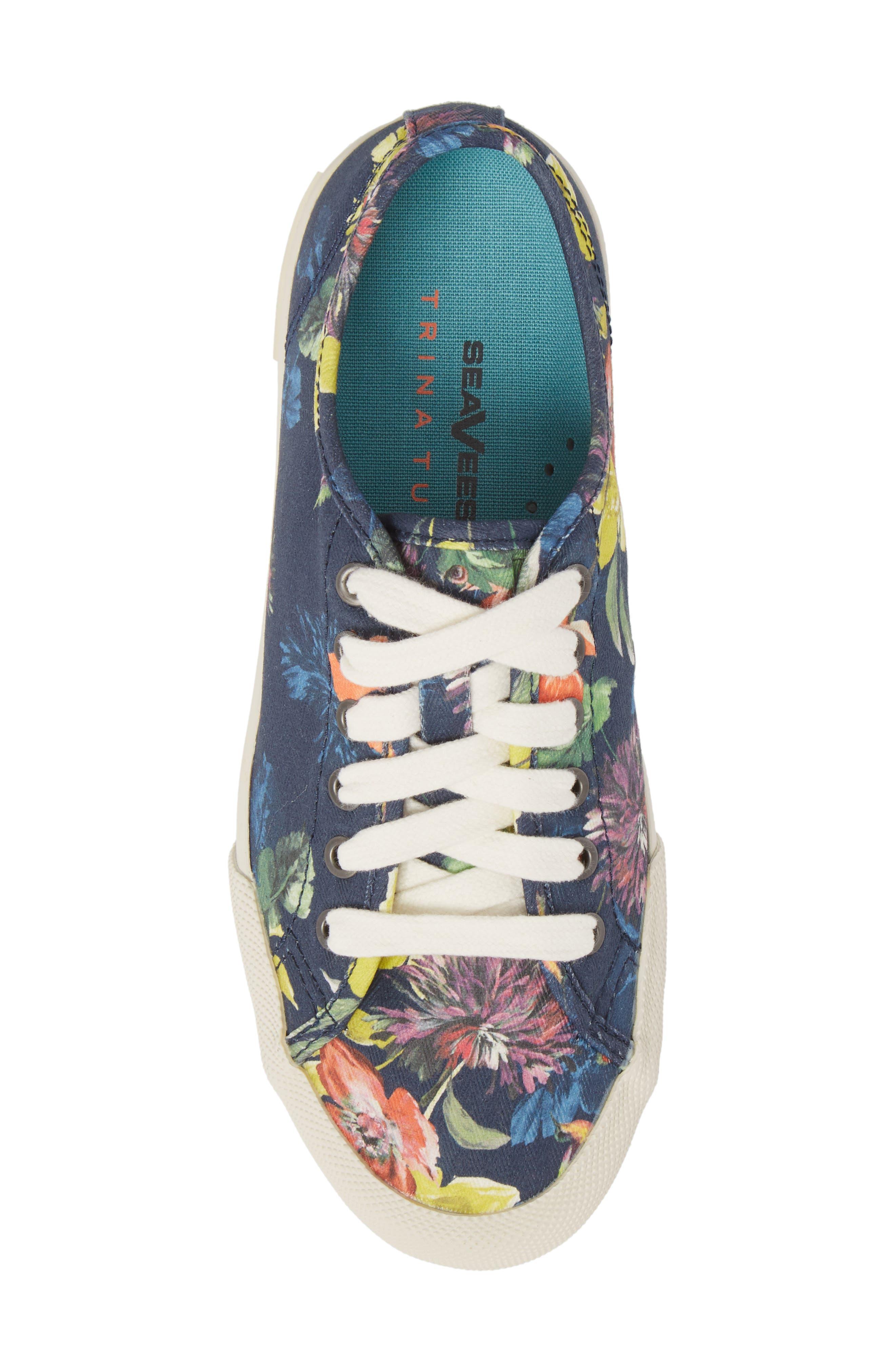 x Trina Turk Monterey Sneaker,                             Alternate thumbnail 5, color,                             Navy Chrysanthemum