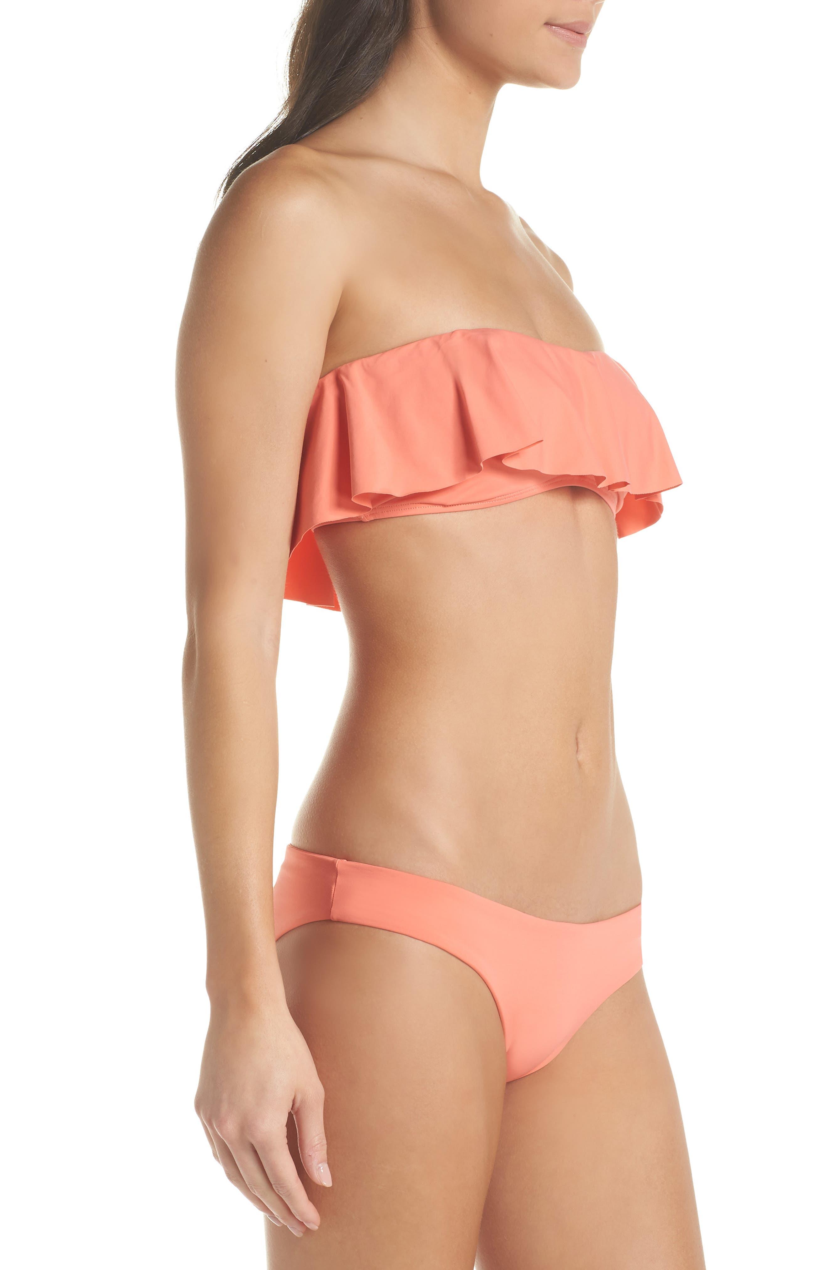 Lynn Ruffle Bikini Top,                             Alternate thumbnail 7, color,                             Fruit Punch