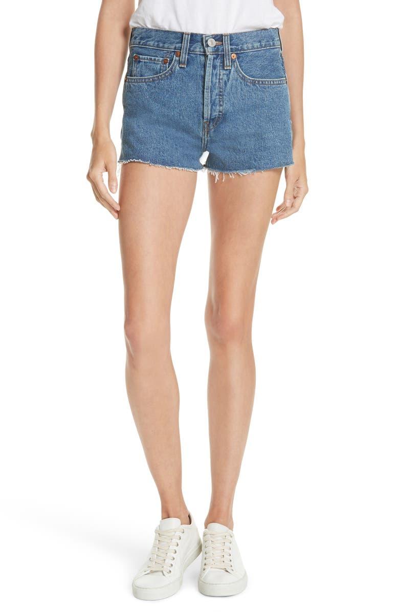 The Short Denim Shorts