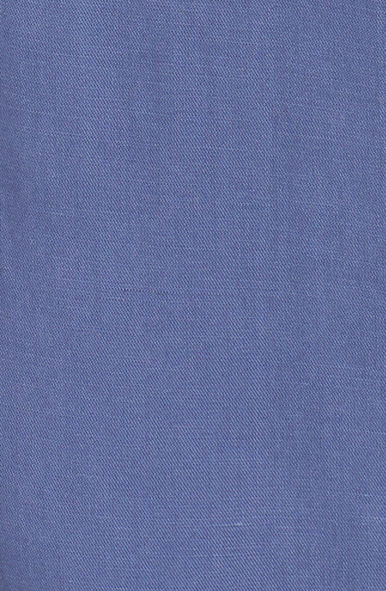 Tie Shoulder Jumpsuit,                             Alternate thumbnail 6, color,                             Chambray