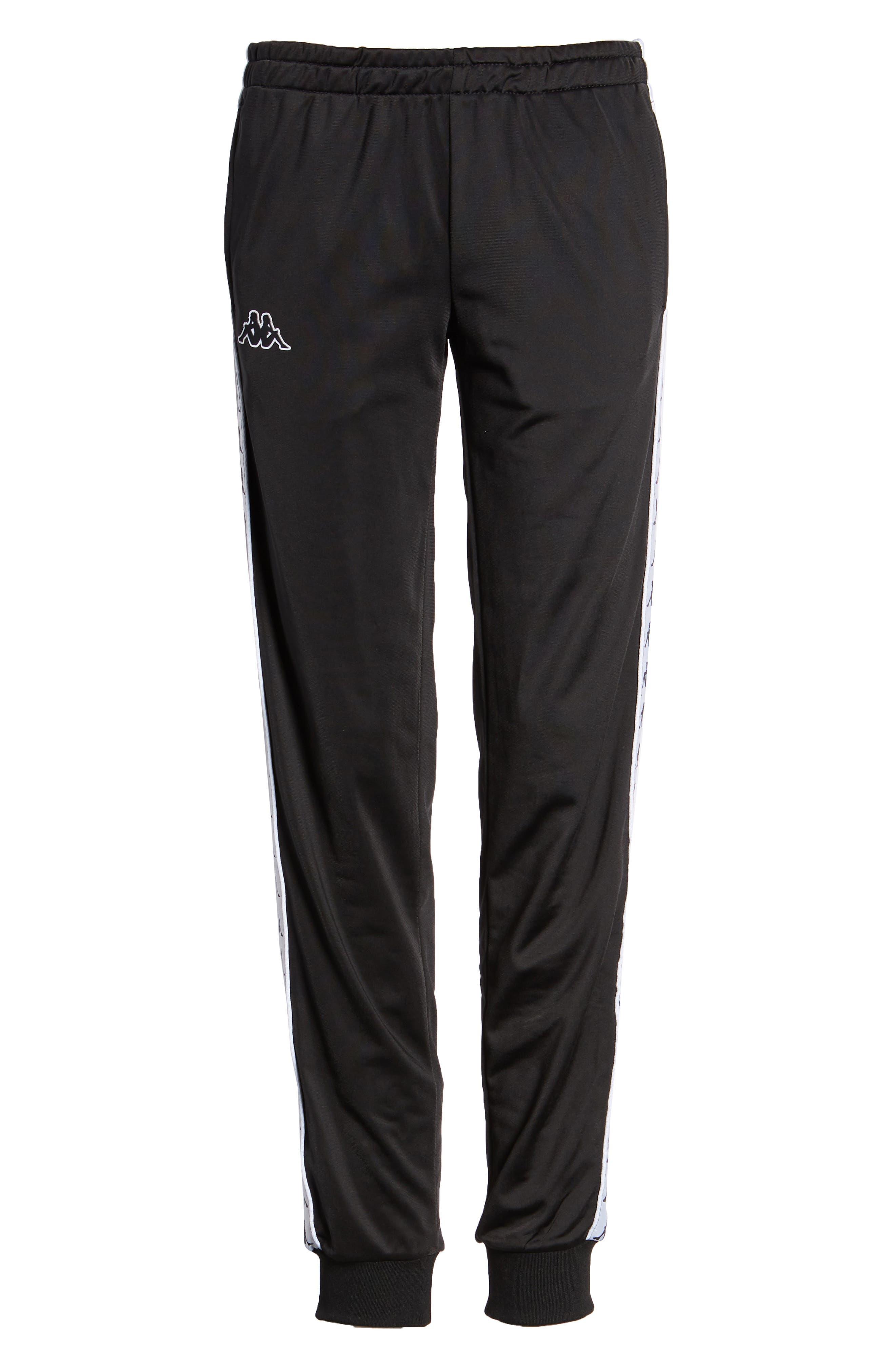 Banda Pants,                         Main,                         color, Black/ White
