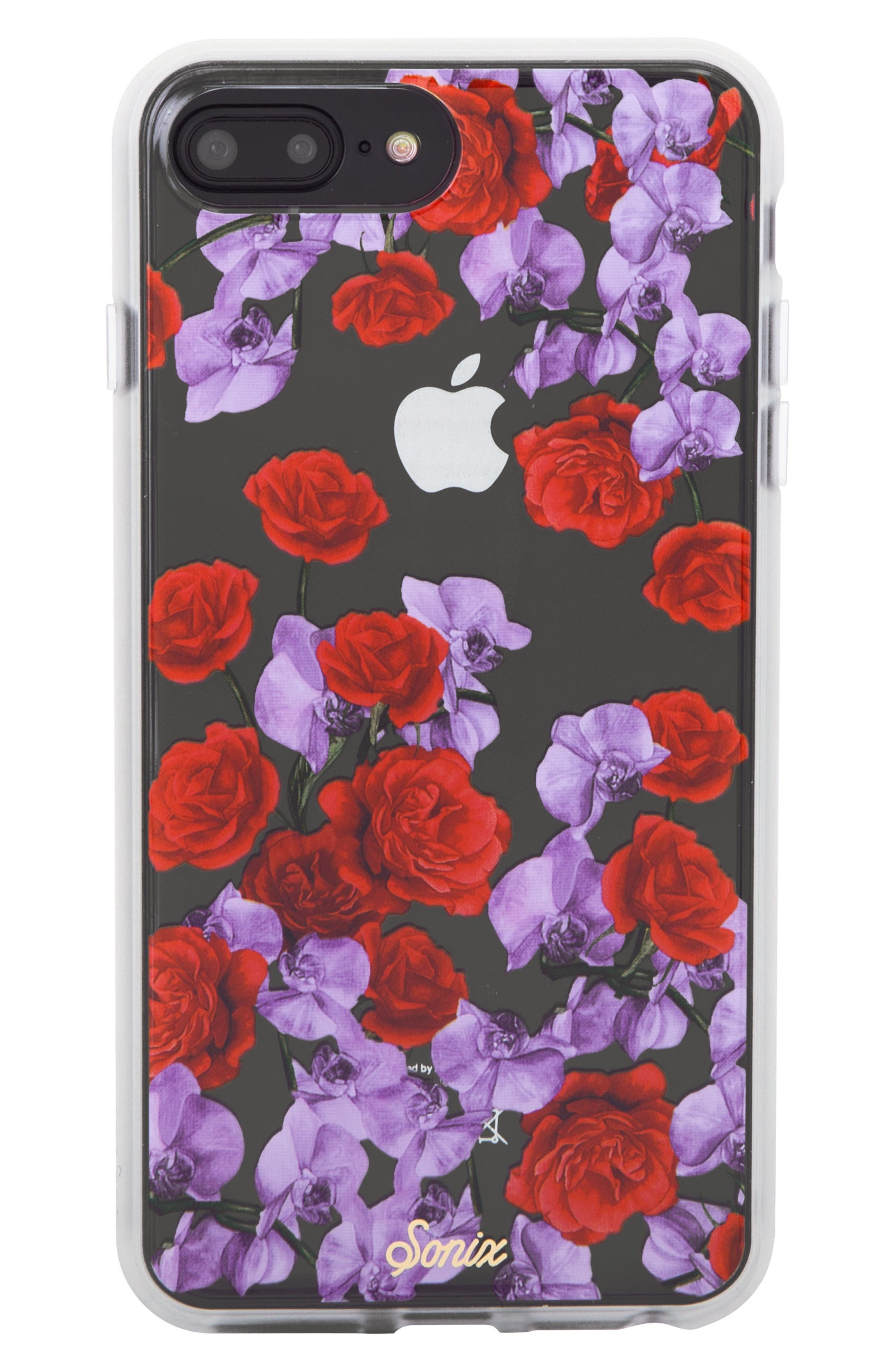 iphone 8 cell phone casessonix rose orchid iphone 6 6s 7 8 \u0026 6 6s 7 8 plus case