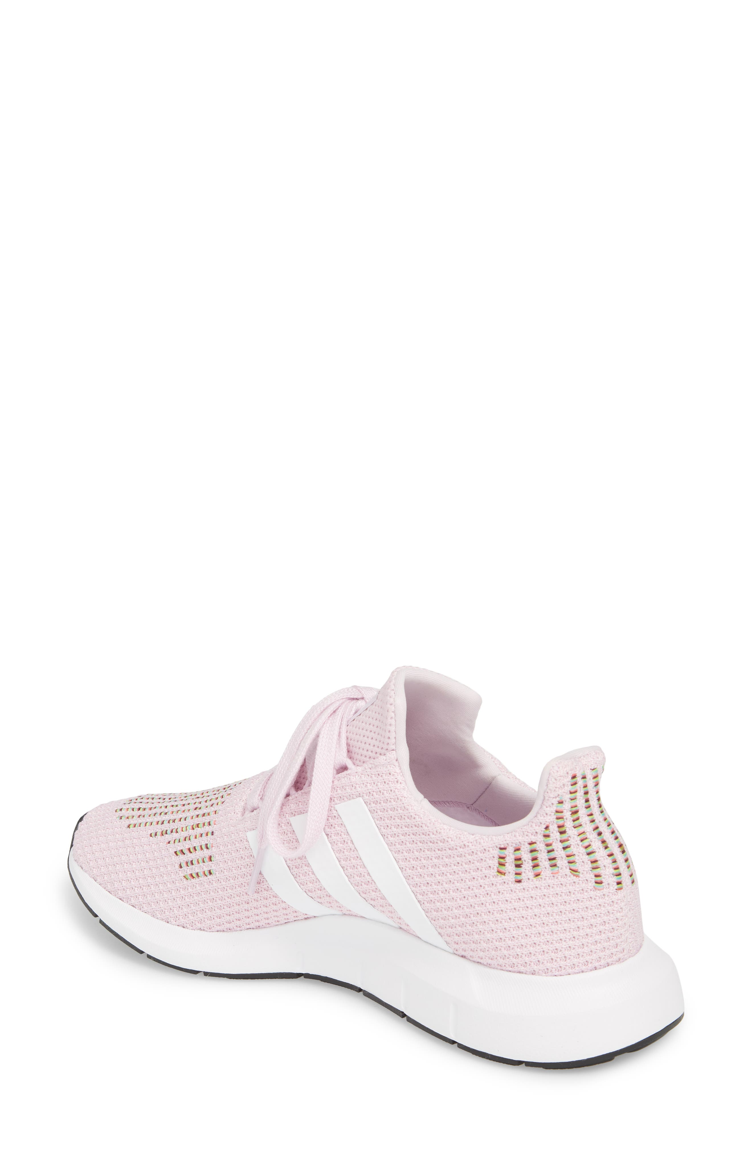 Swift Run Sneaker,                             Alternate thumbnail 2, color,                             Aero Pink/ White/ Core Black