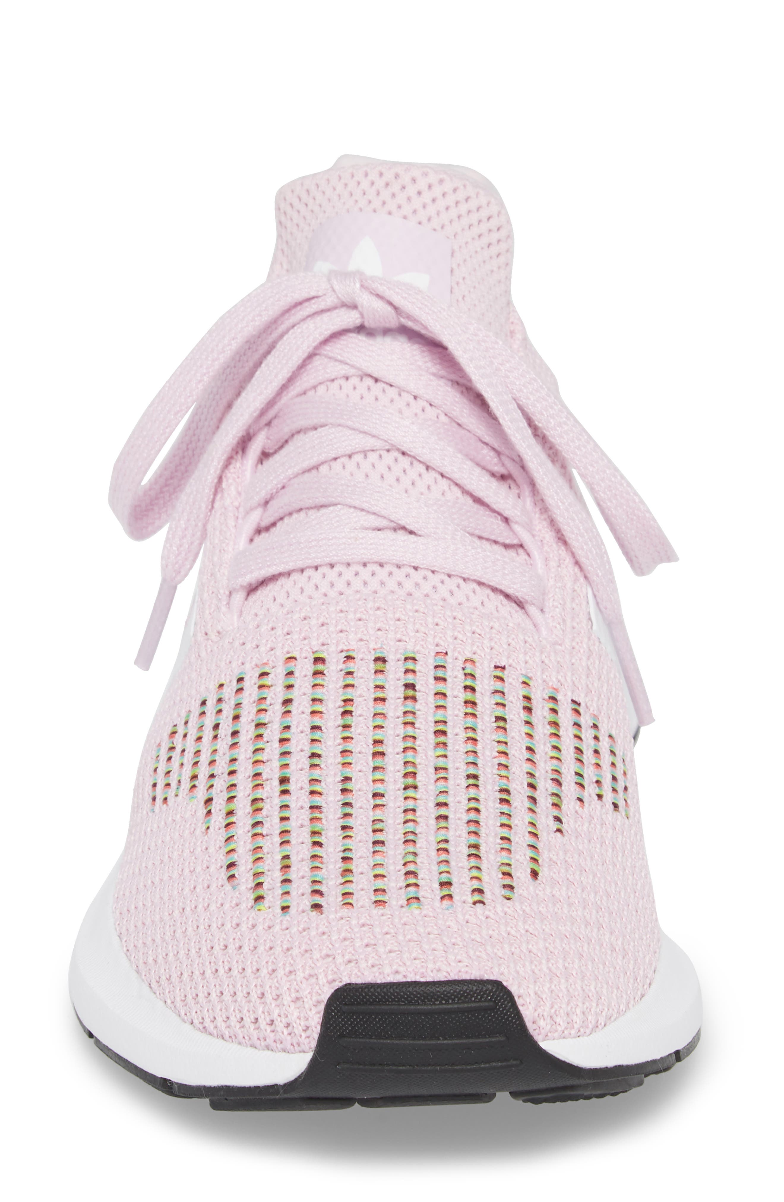 Swift Run Sneaker,                             Alternate thumbnail 4, color,                             Aero Pink/ White/ Core Black