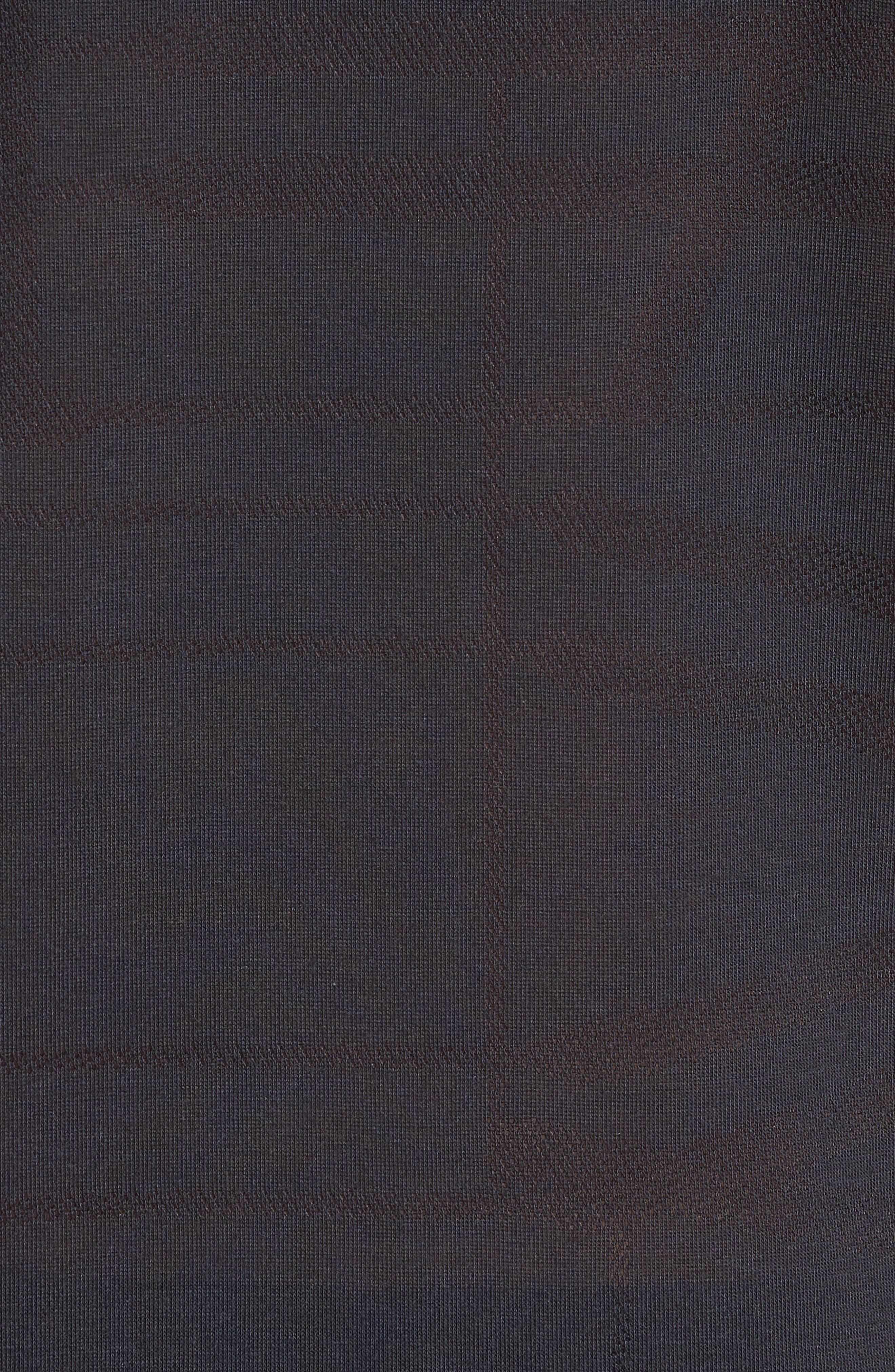 Threadborne Elite Crewneck T-Shirt,                             Alternate thumbnail 5, color,                             Black/ Graphite